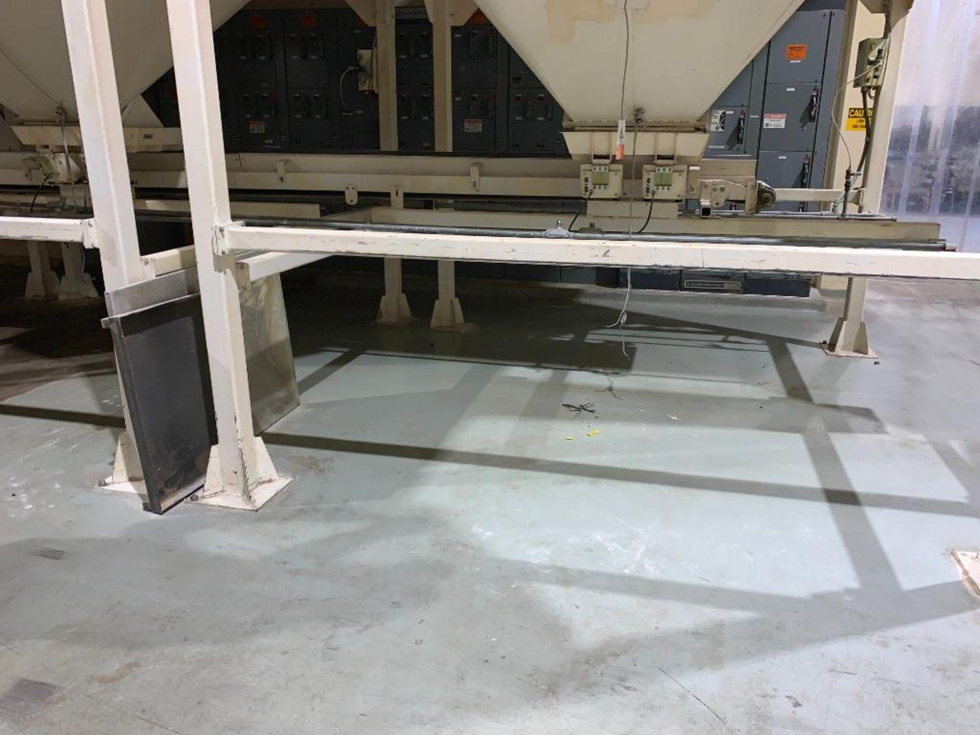 Aseeco mild steel cone bottom bulk storage bin - Image 3 of 16
