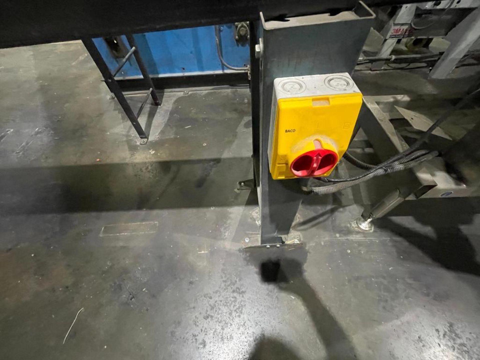 rubber belt conveyor - Image 5 of 7