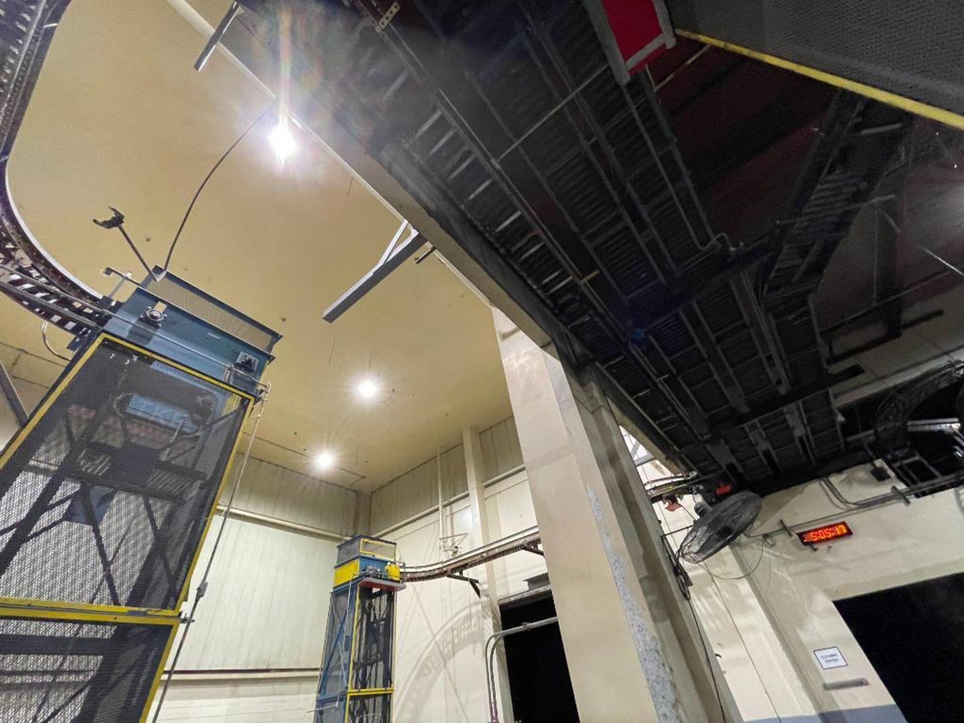 overhead power case conveyor - Image 3 of 5