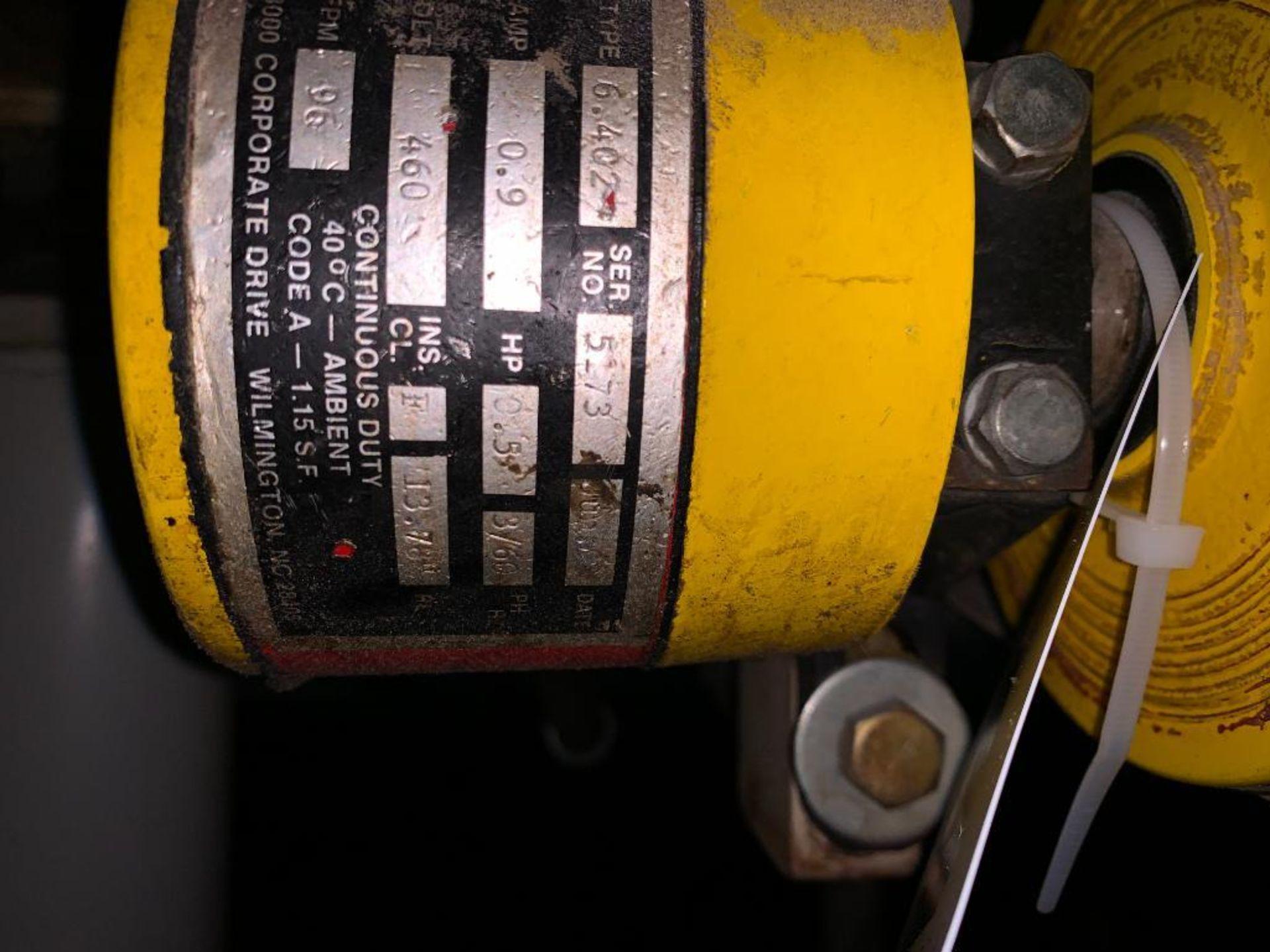 mild steel belt conveyor - Image 3 of 9