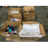 safety equipment, absorbent pads, and manuals