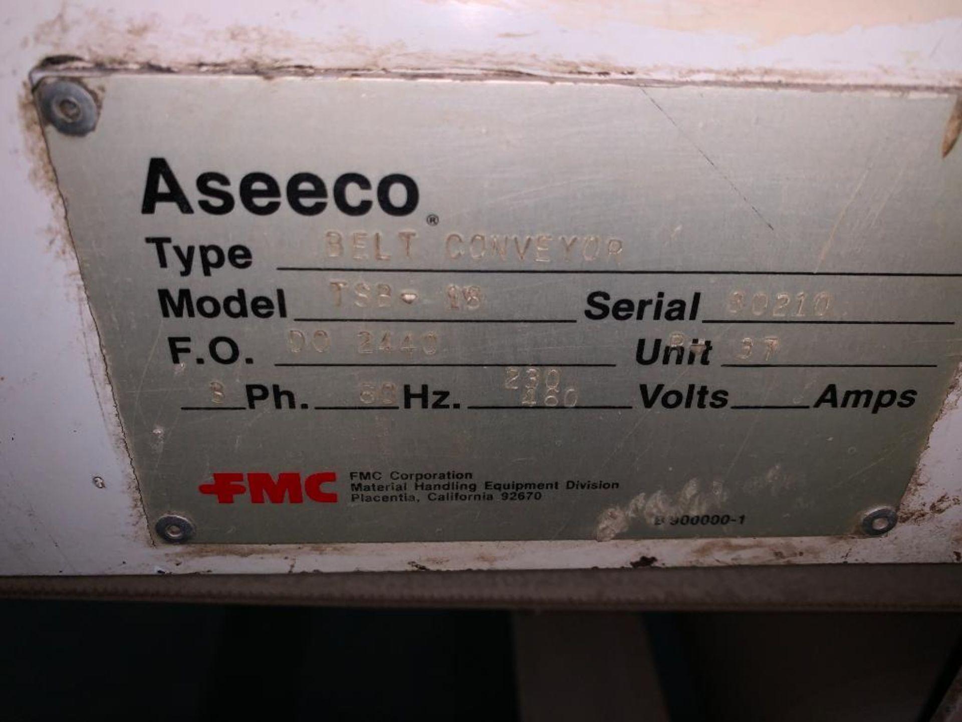Aseeco mild steel cone bottom bulk storage bin - Image 24 of 27