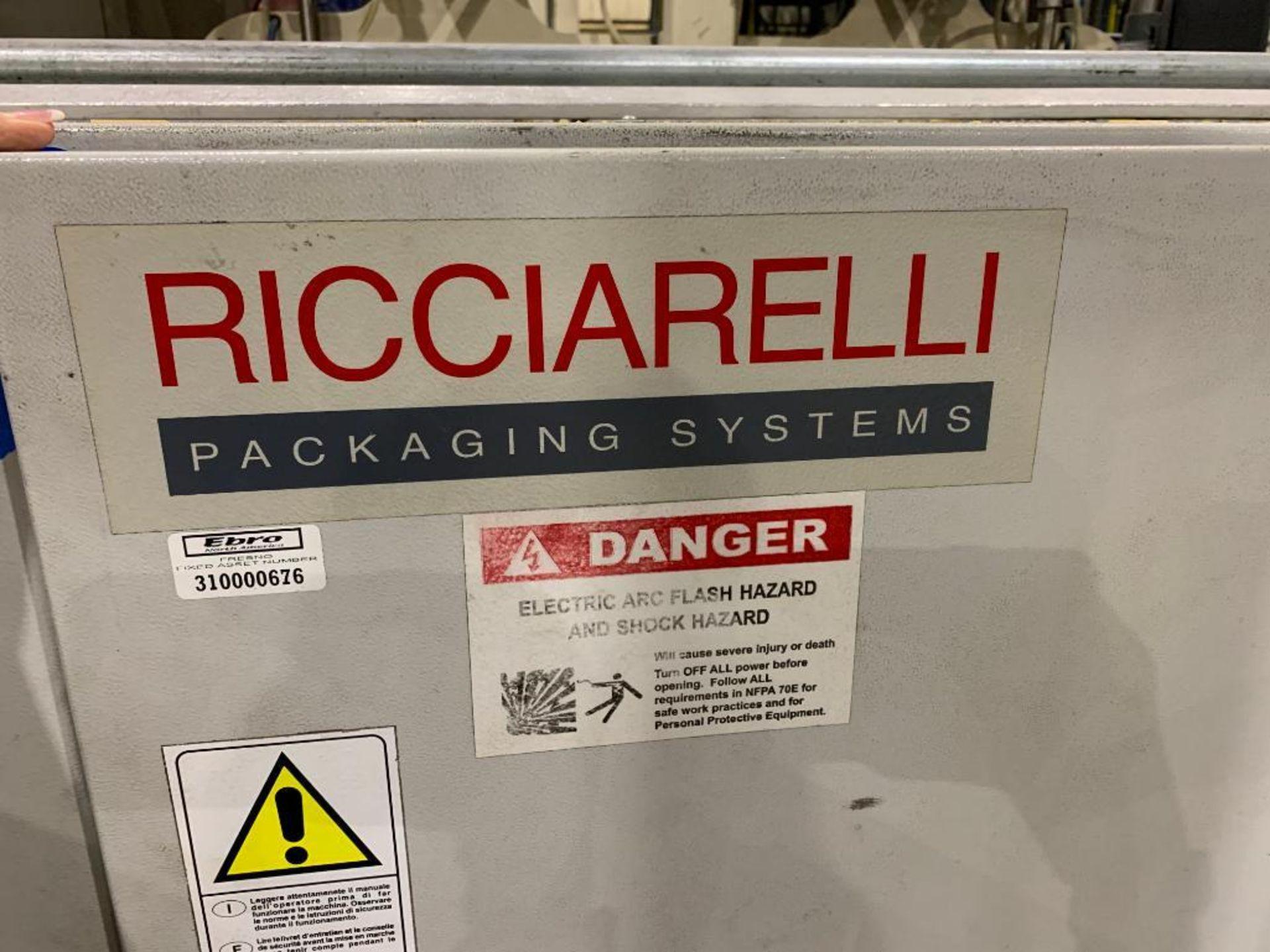 2010 Ricciarelli long goods horizontal flow wrapper - Image 49 of 79