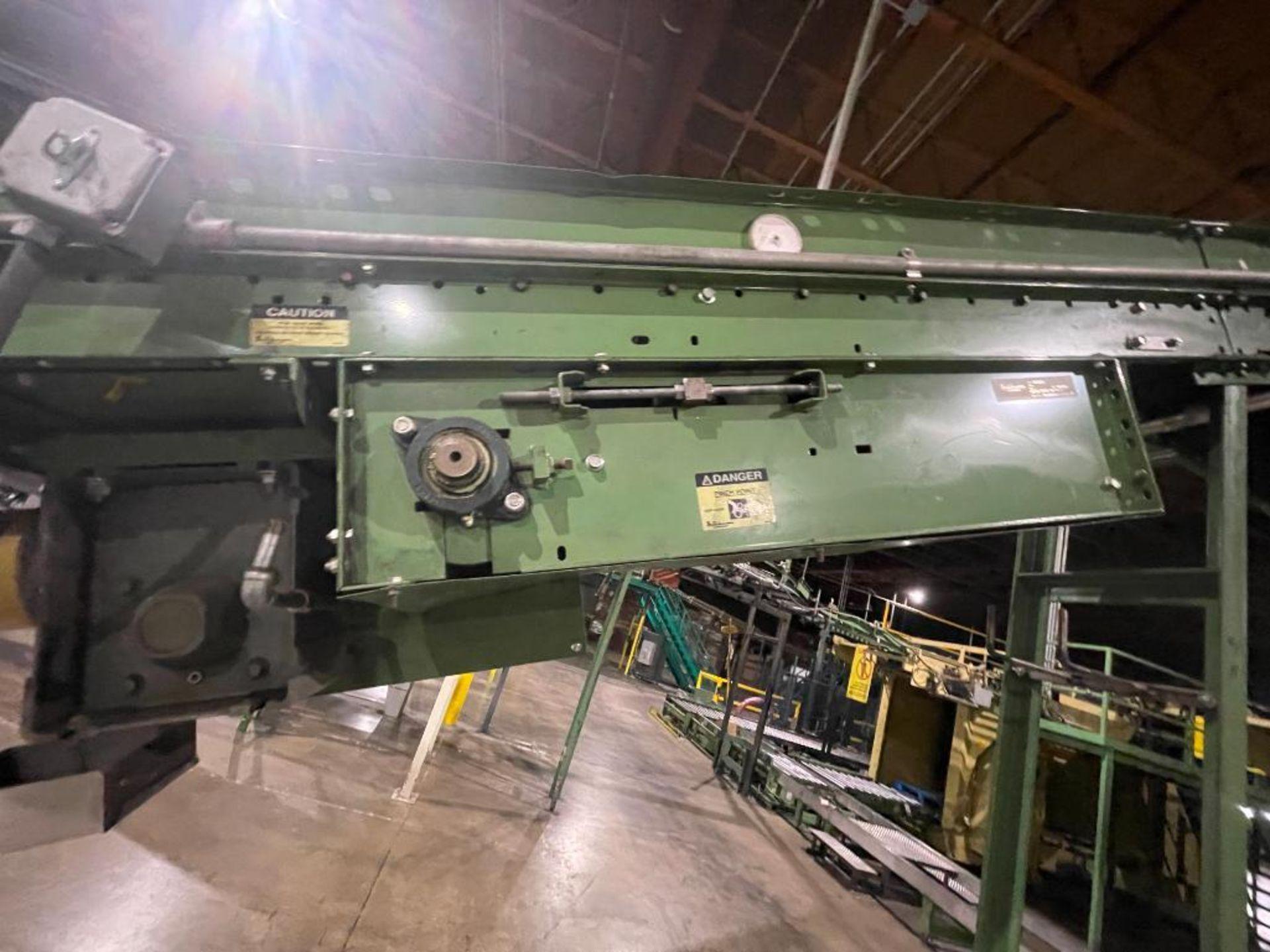 Buschman mild steel incline conveyor - Image 6 of 17