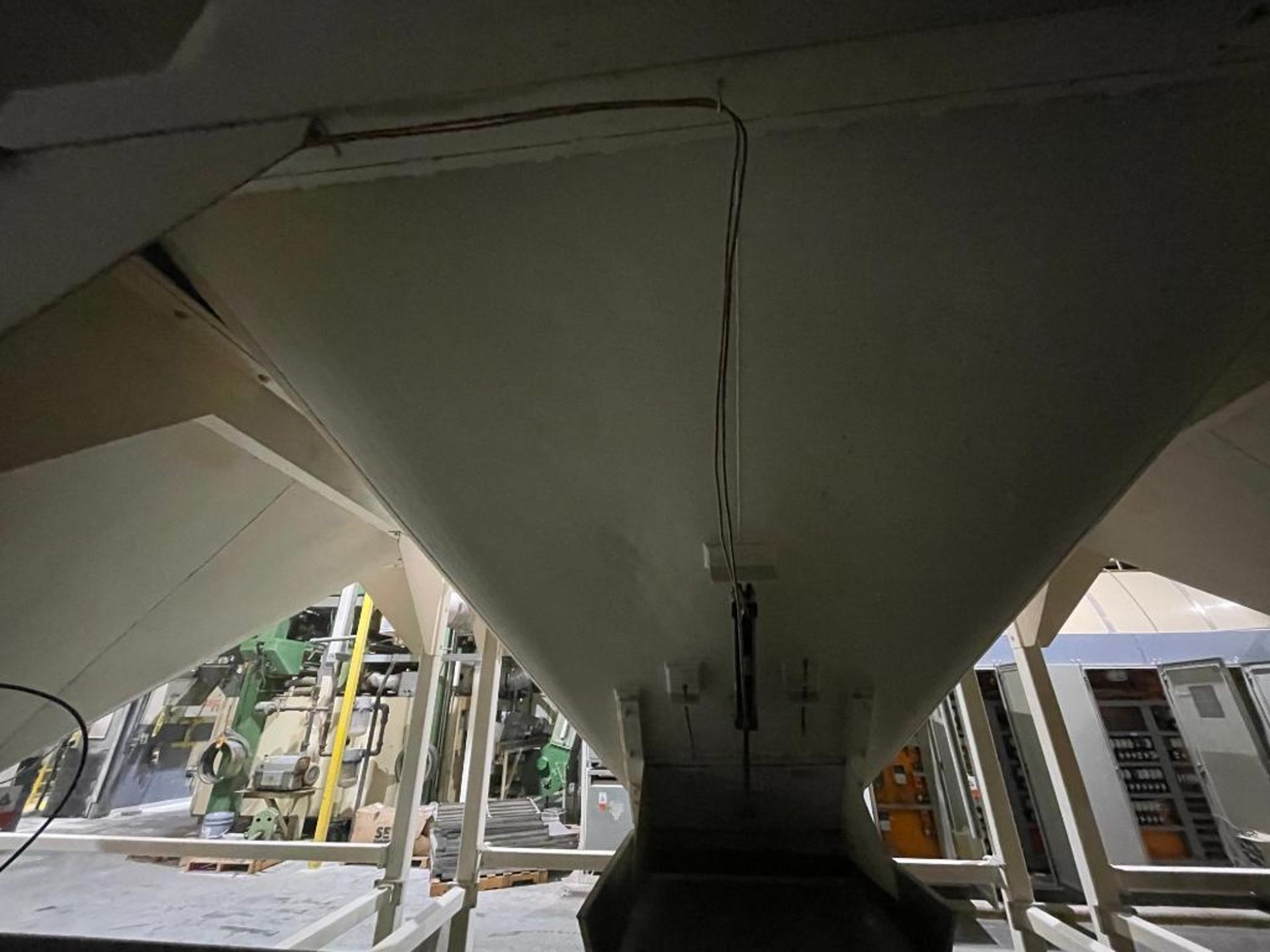 Aseeco mild steel cone bottom bulk storage bin - Image 22 of 31