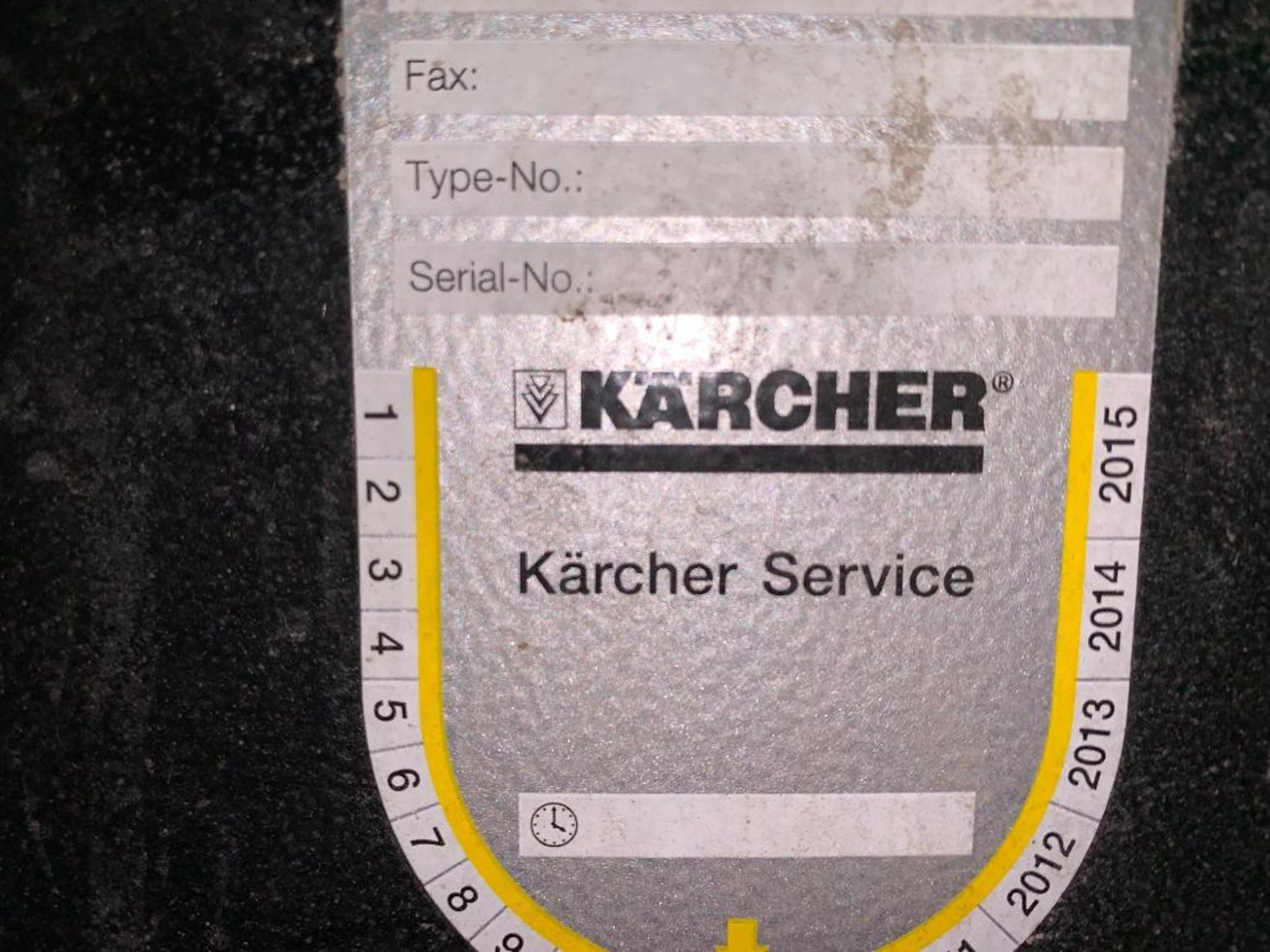 2012 Karcher walk behind floor scrubber - Image 3 of 12