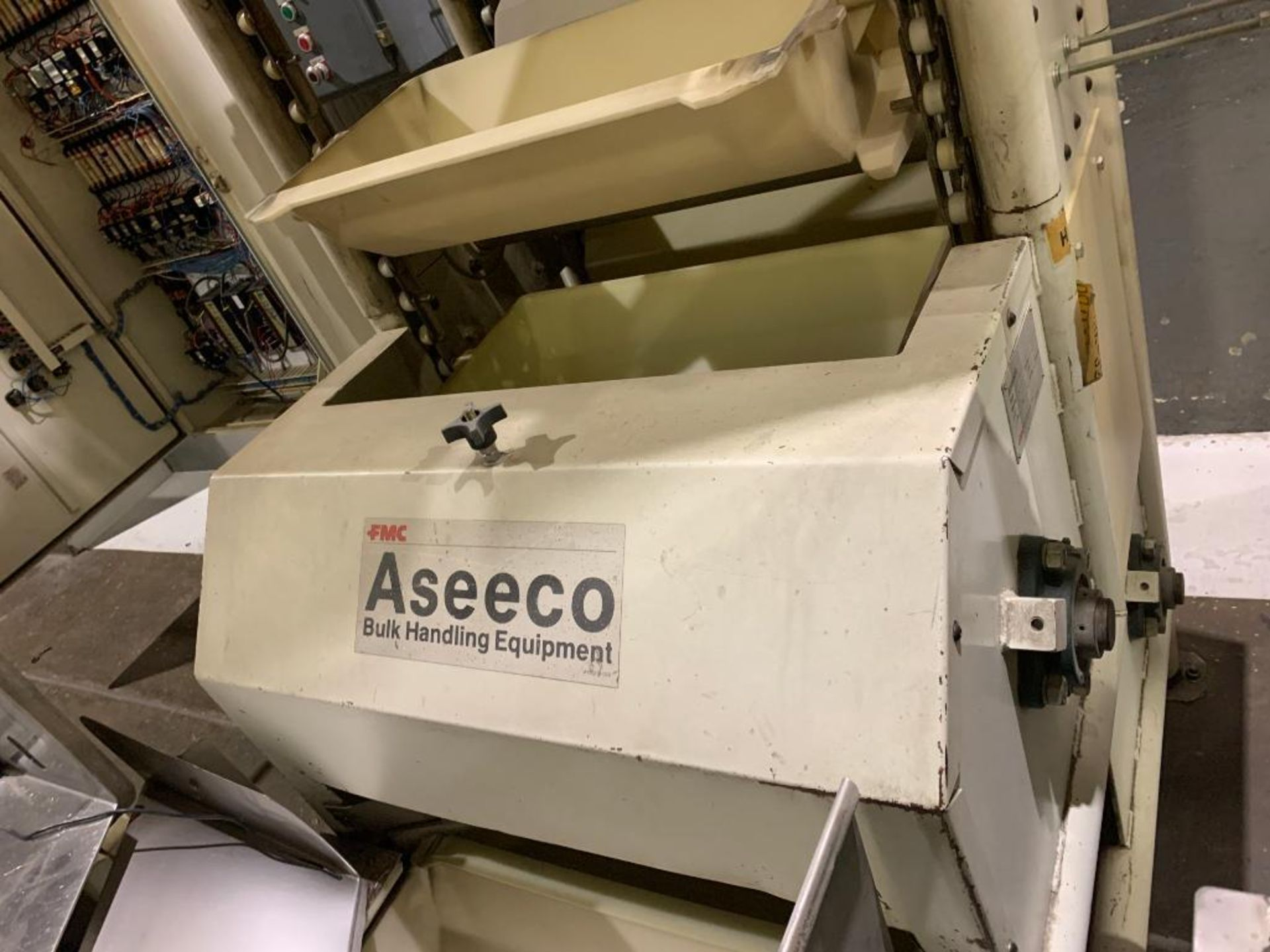 1990 Aseeco horizontal bucket elevator, model ALH-0-24 - Image 9 of 16