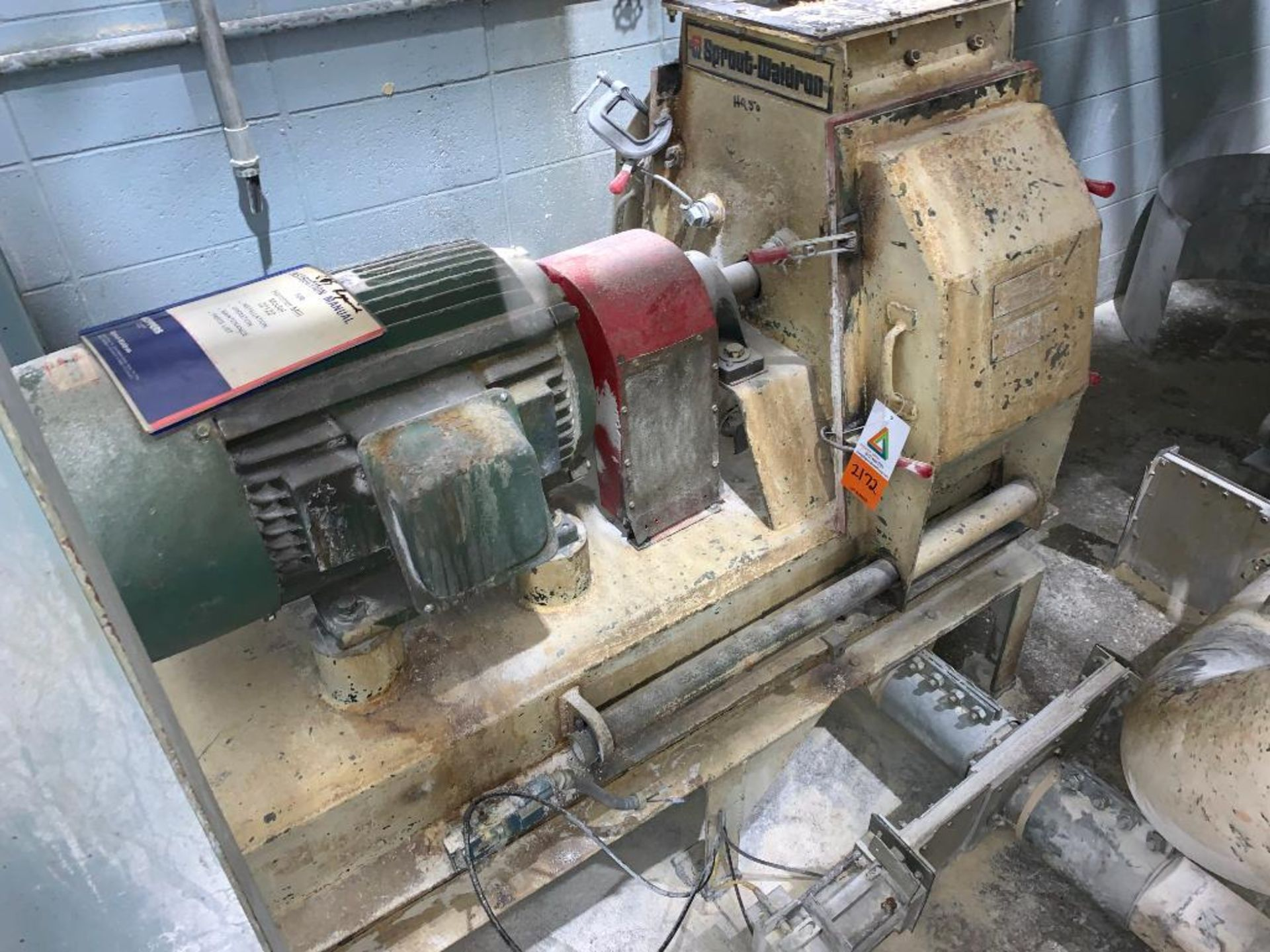Sprout-Waldron hammermill, 60 hp - Image 9 of 9