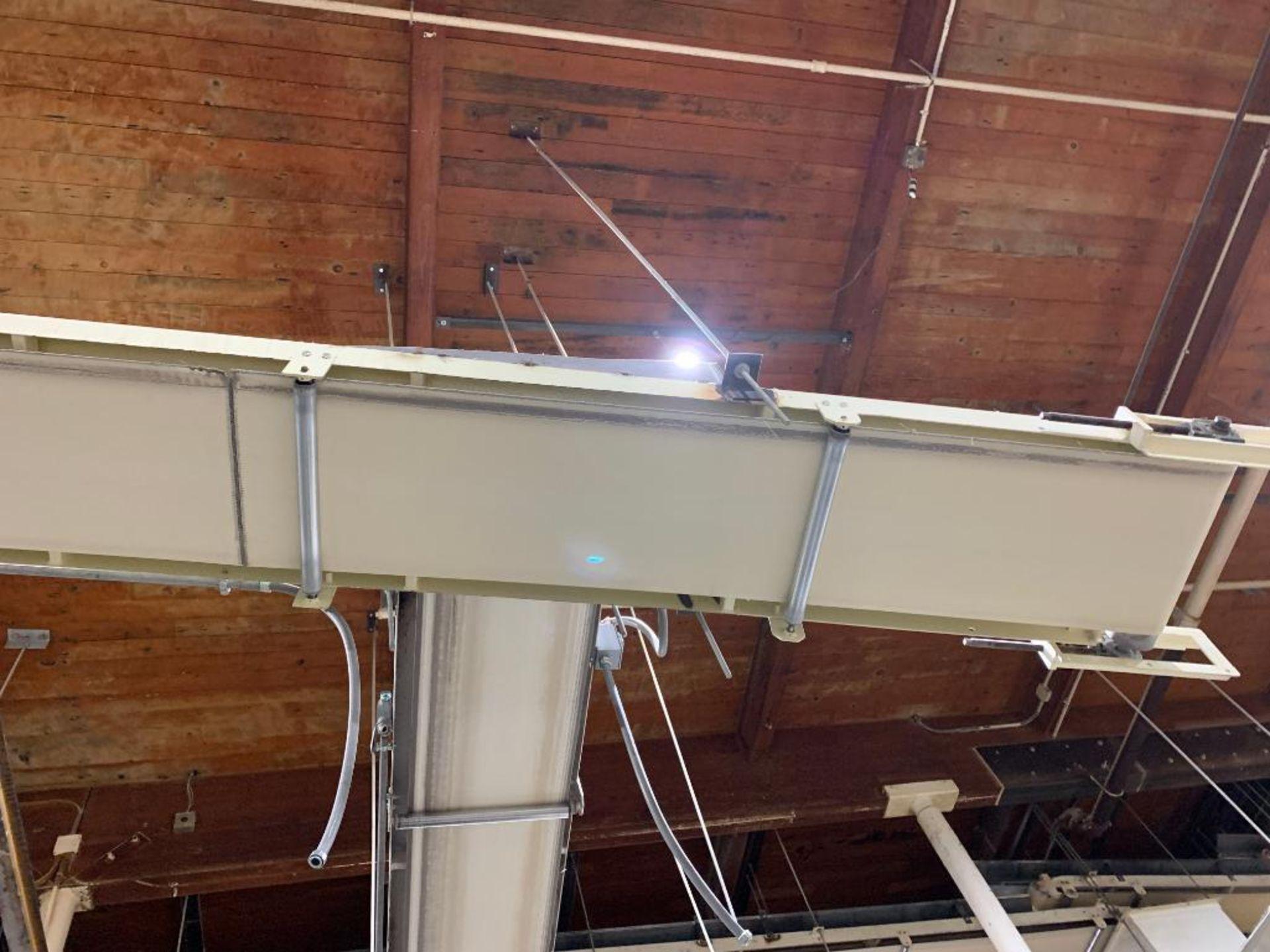 Aseeco mild steel decline conveyor - Image 10 of 12