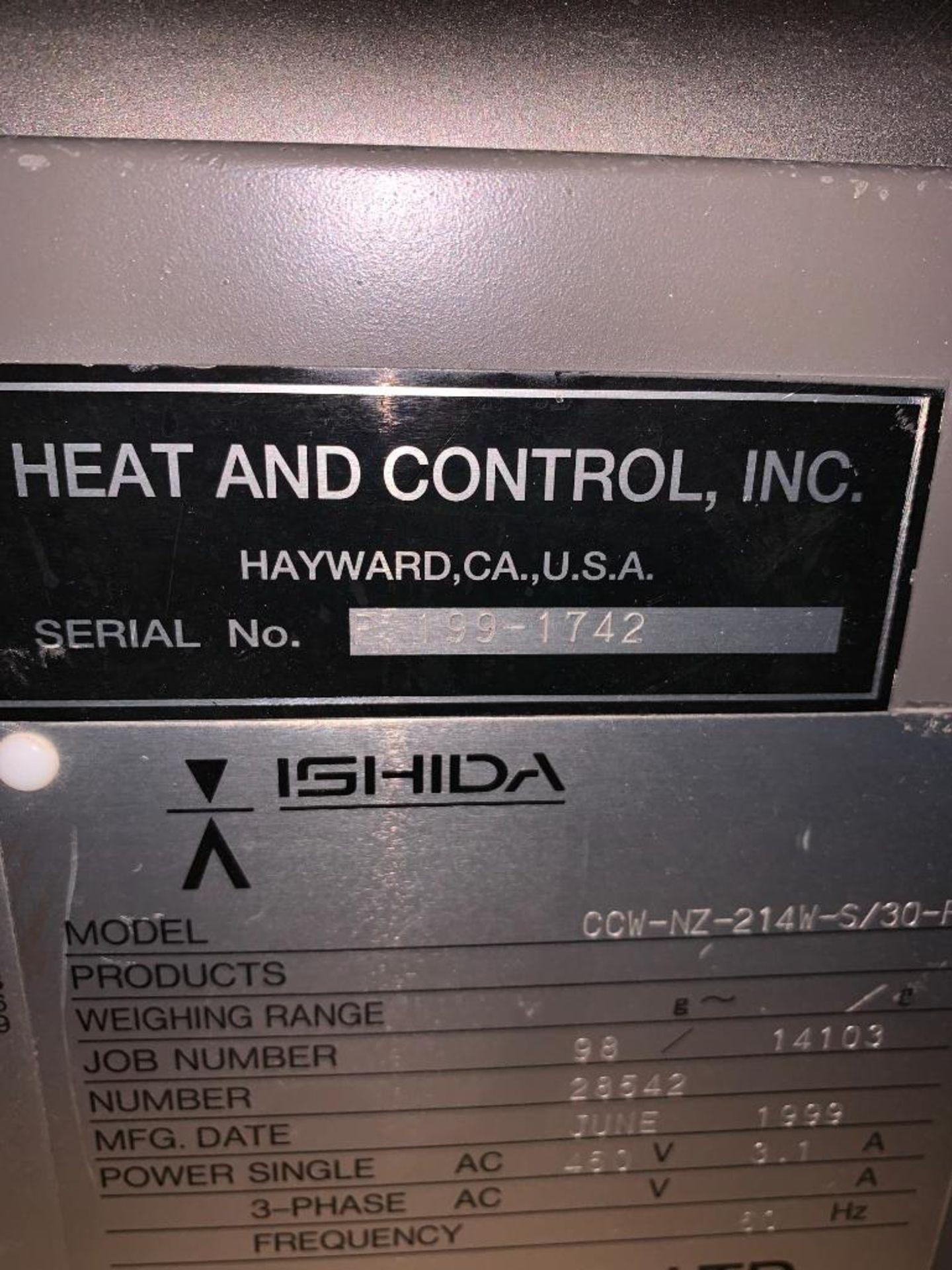 1999 Ishida scale, 14-head - Image 7 of 11