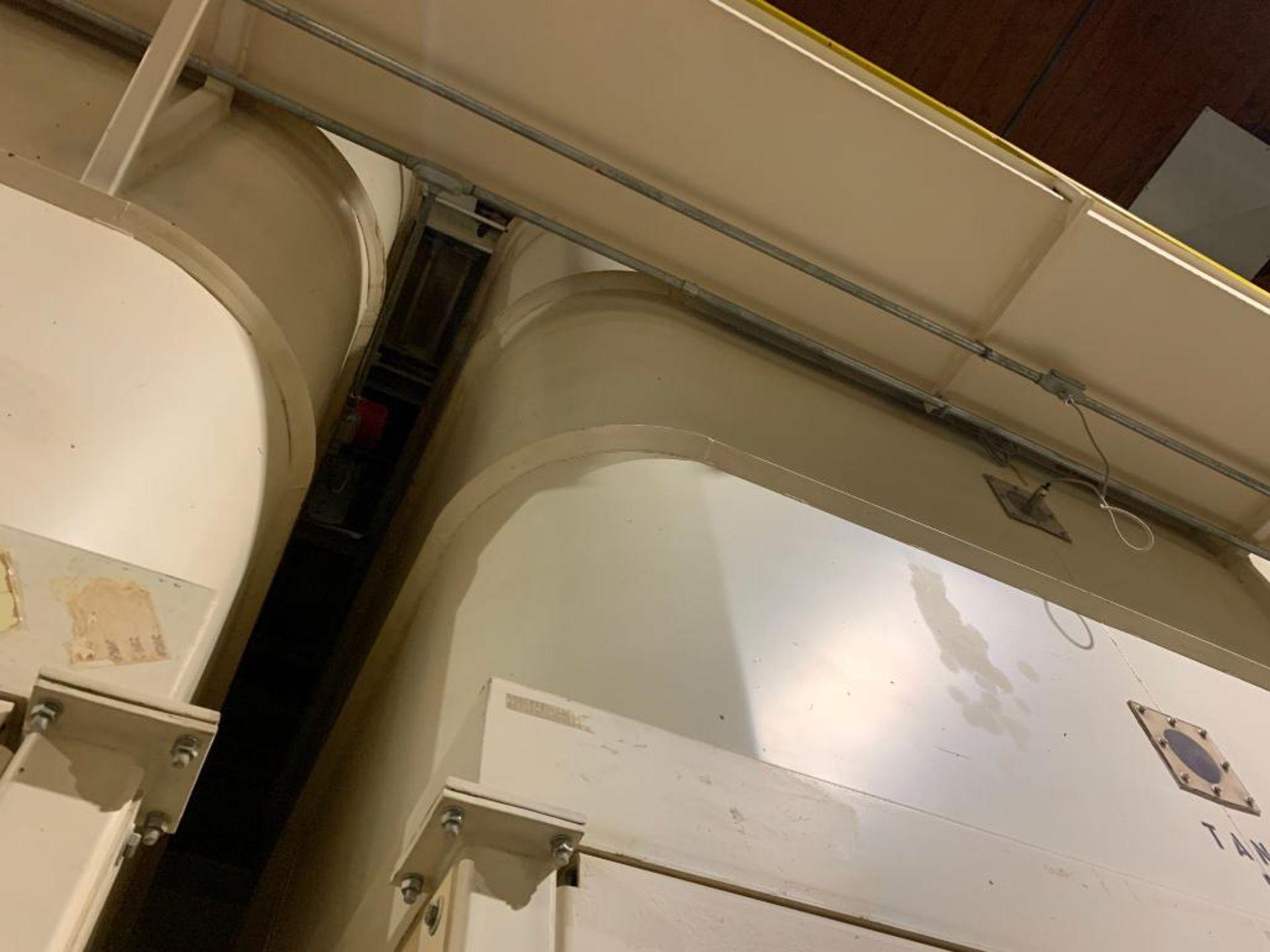 Aseeco mild steel cone bottom bulk storage bin - Image 14 of 19