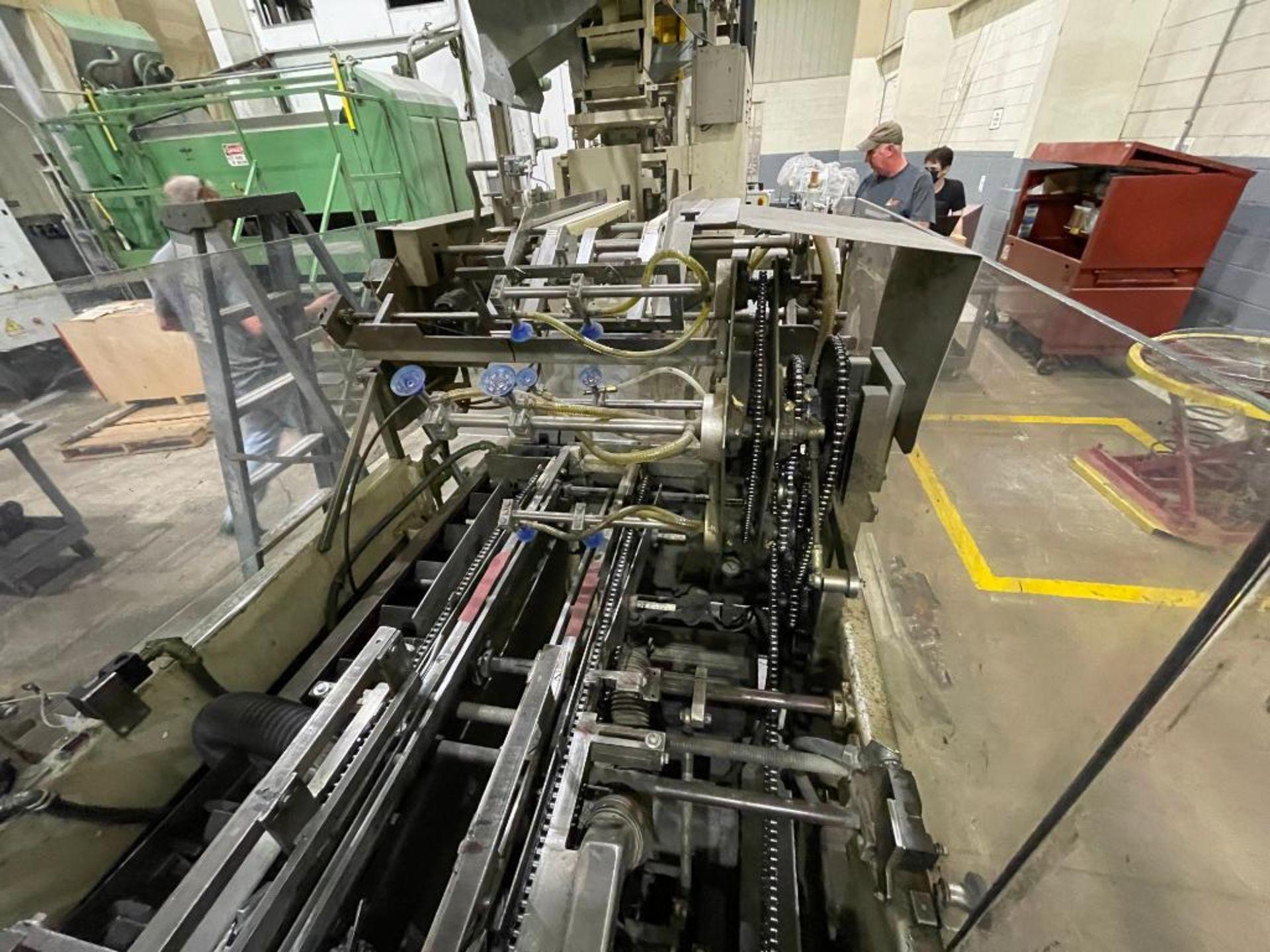 Hayes Machine Co. long goods cartoner, model 51BB - Image 9 of 64