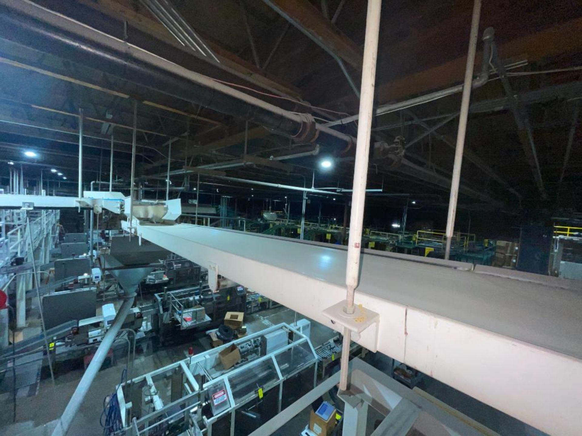 mild steel overhead belt conveyor - Image 8 of 10