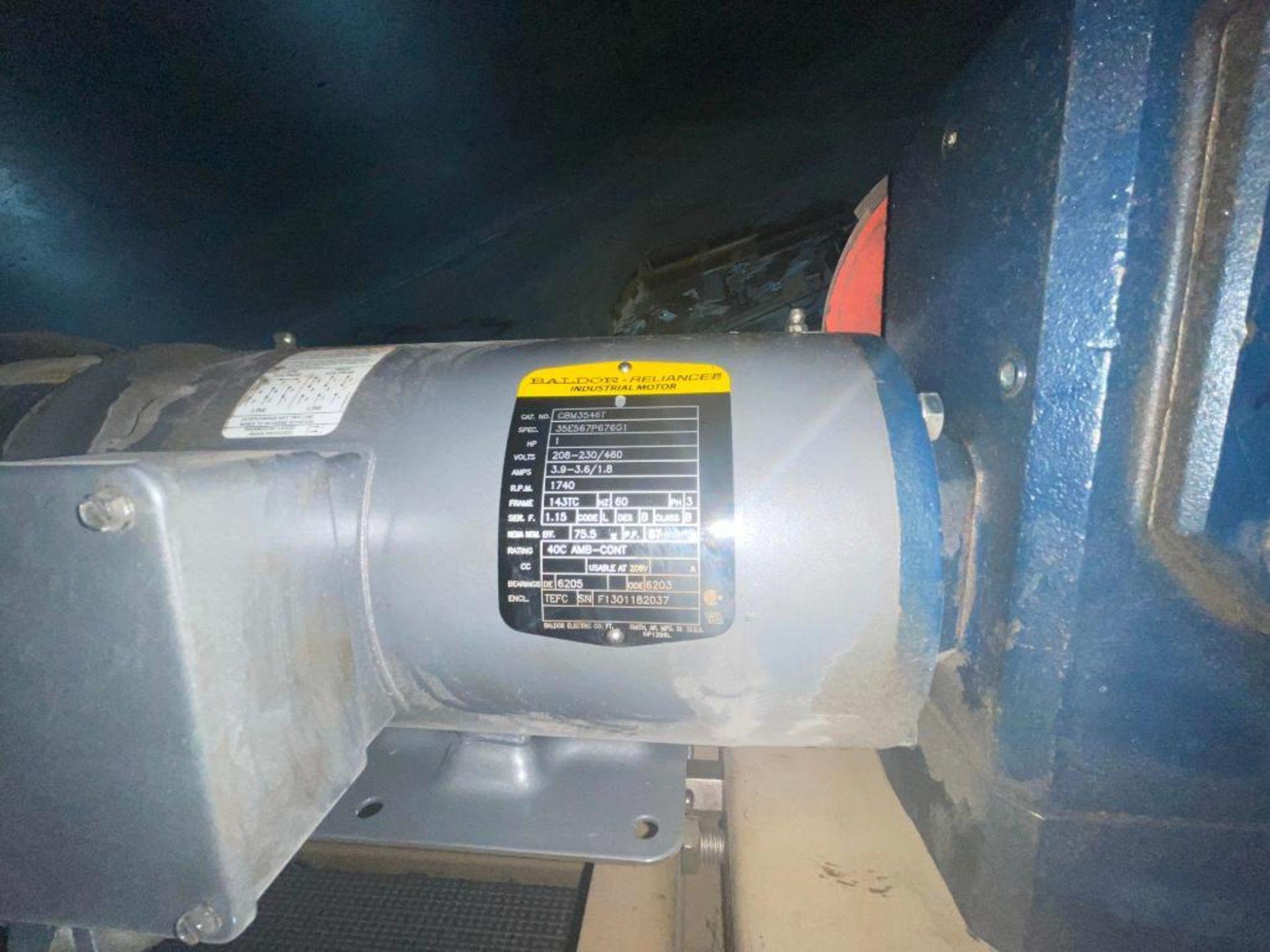 Mathews mild steel incline conveyor - Image 10 of 10