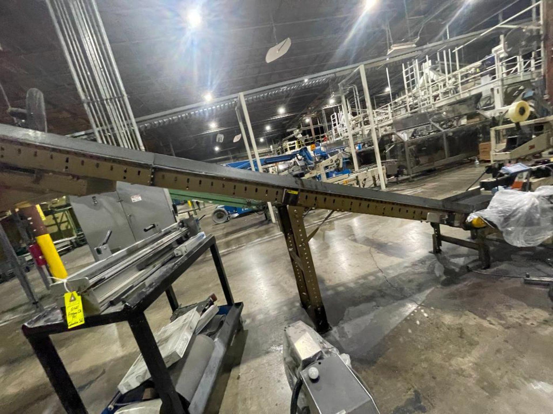 Buschman mild steel incline conveyor - Image 10 of 11