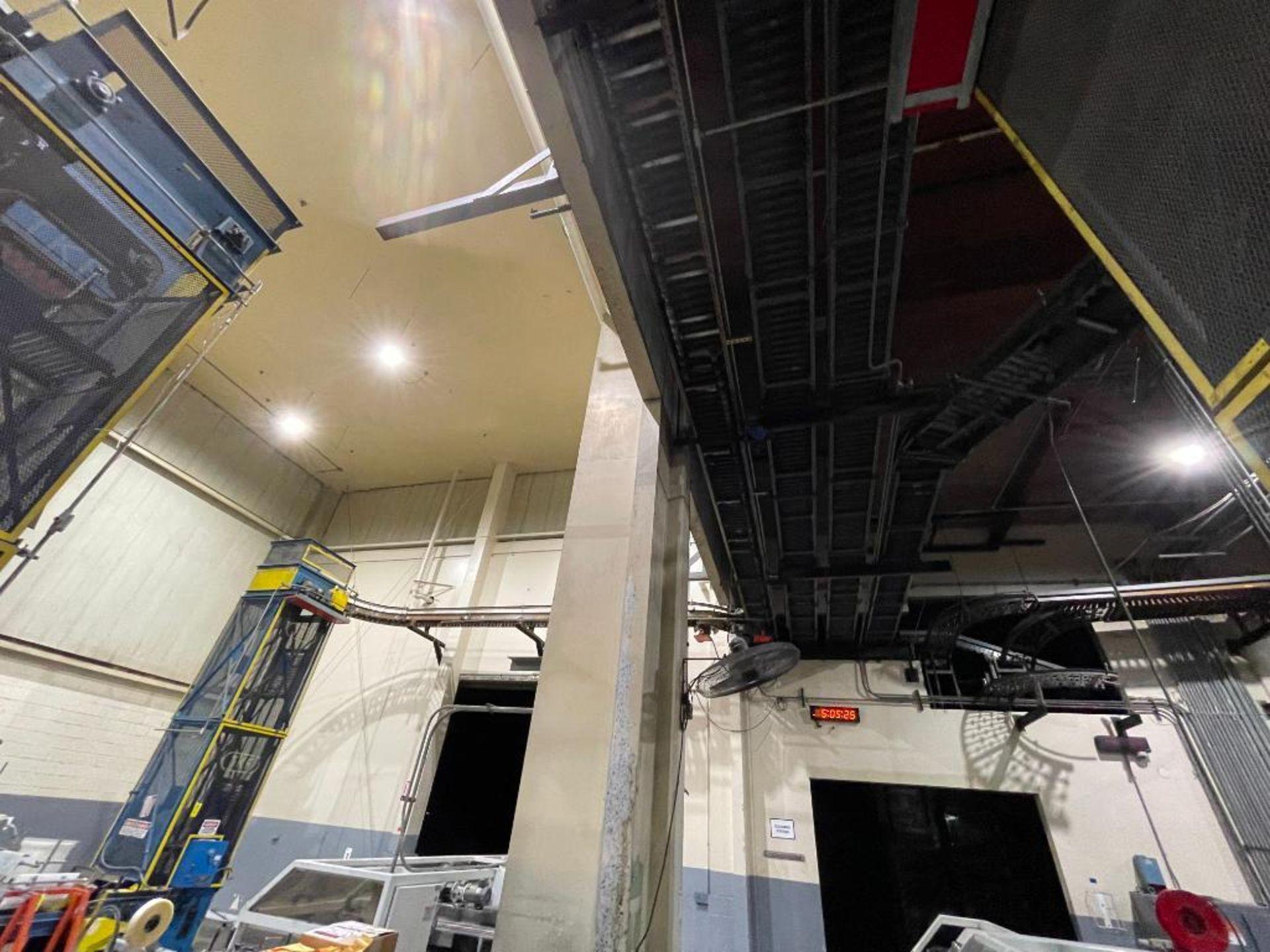 overhead power case conveyor - Image 4 of 5