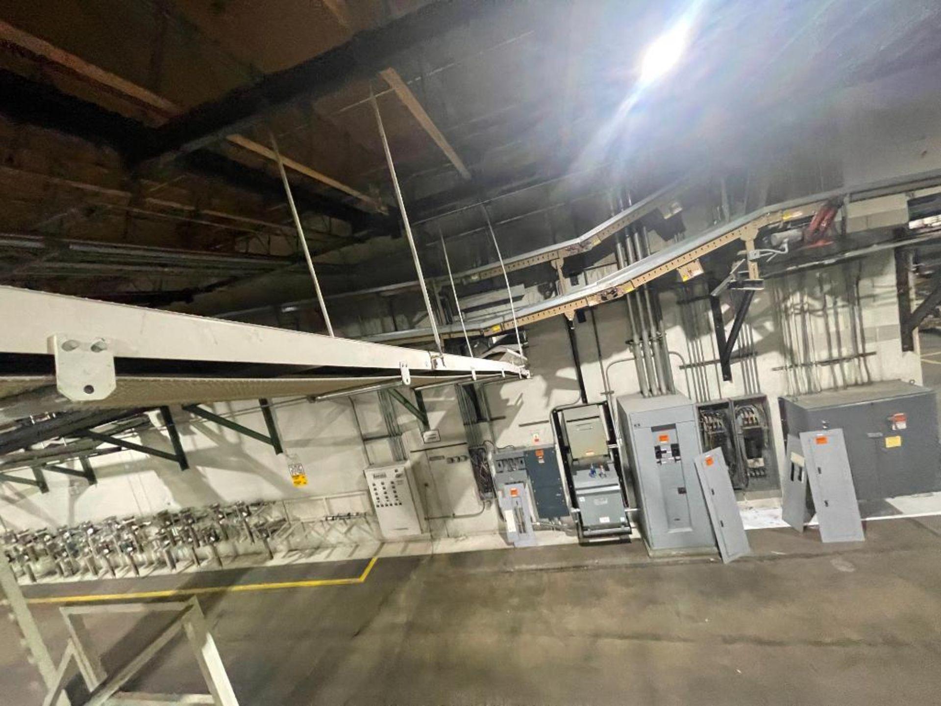 mild steel overhead belt conveyor - Image 12 of 12