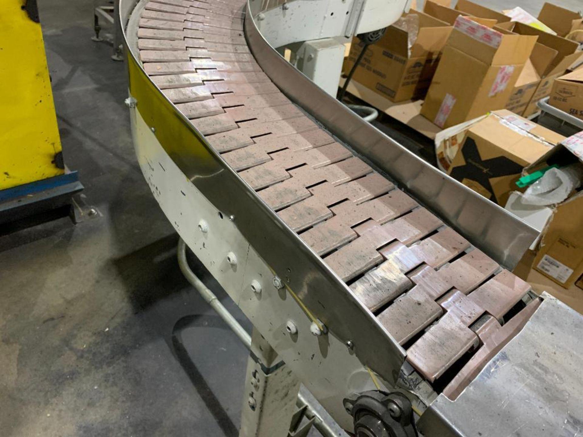 mild steel S-curve conveyor - Image 2 of 11