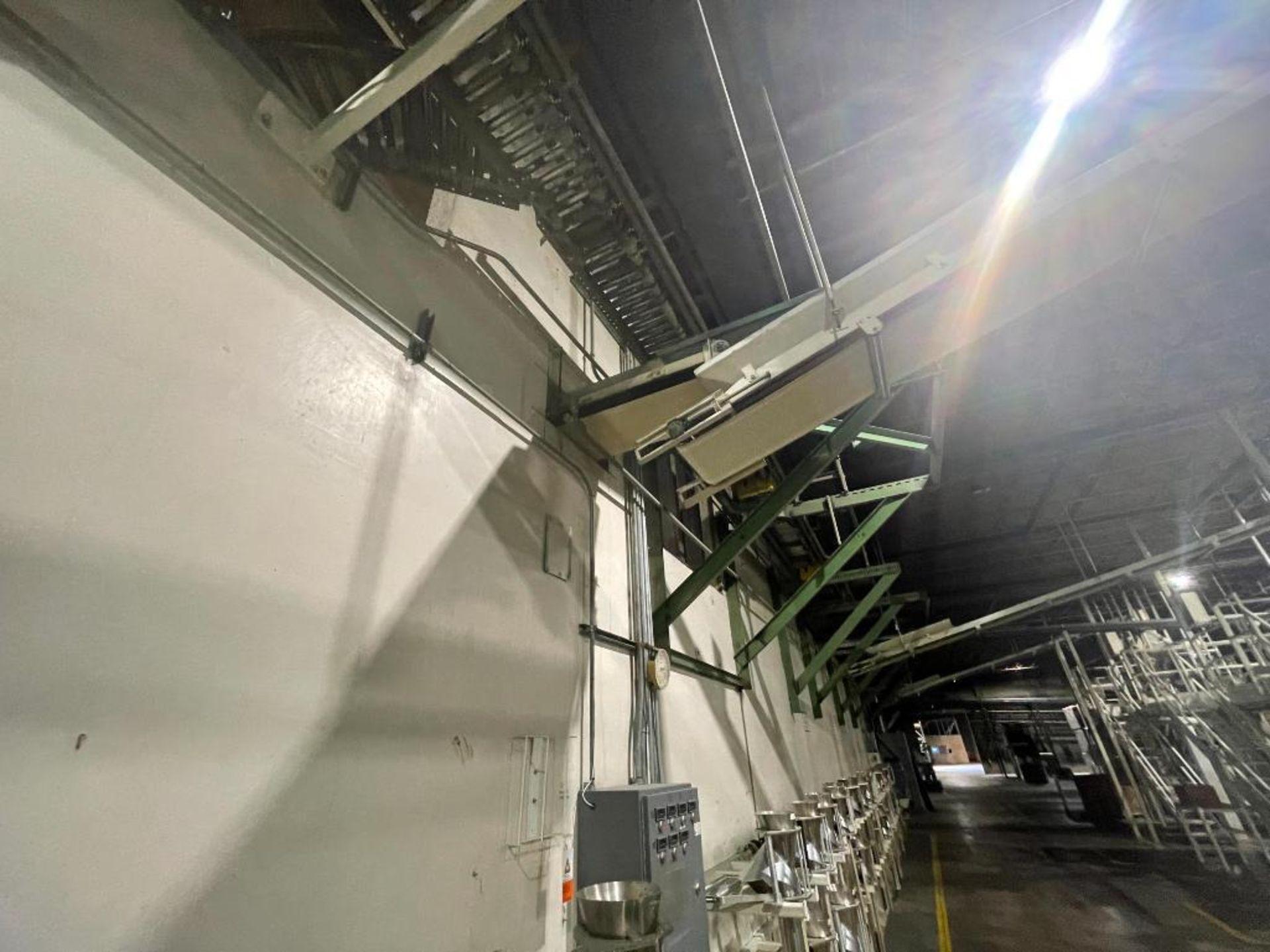mild steel overhead belt conveyor - Image 2 of 8