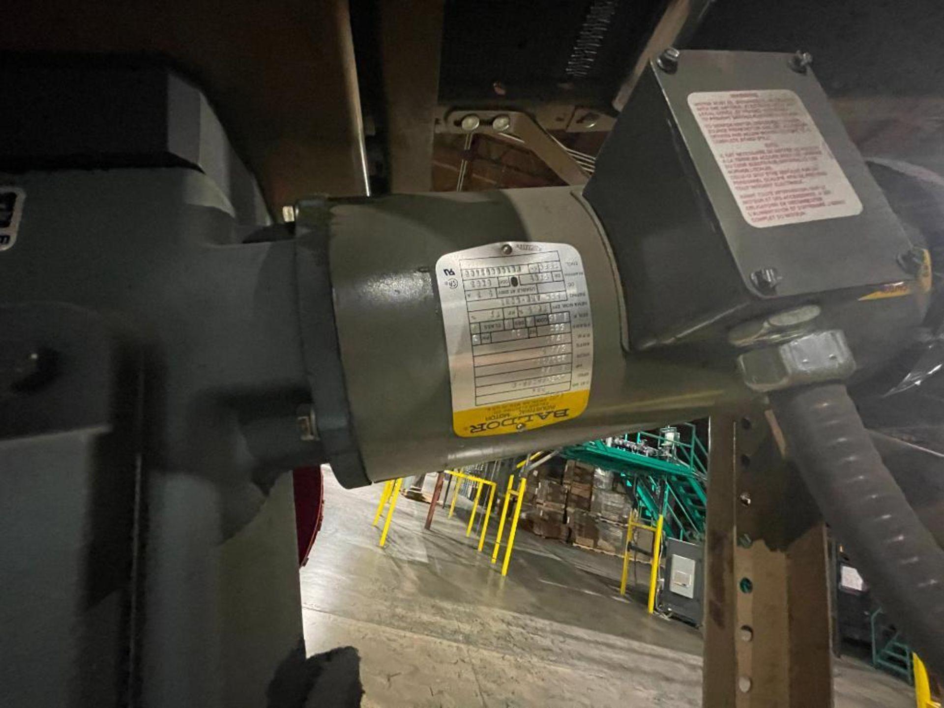 Buschman mild steel incline conveyor - Image 8 of 11