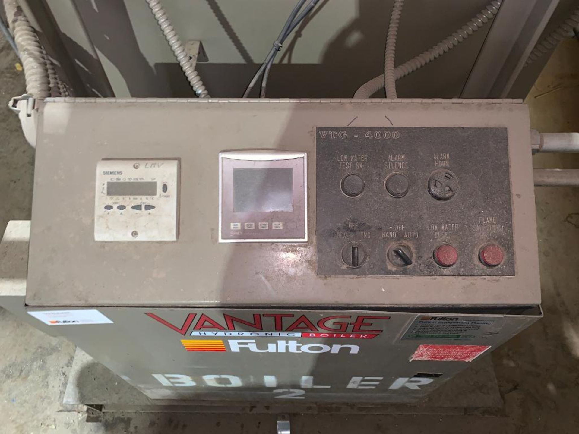 2010 Fulton fuel fired hot water boiler - Image 5 of 15