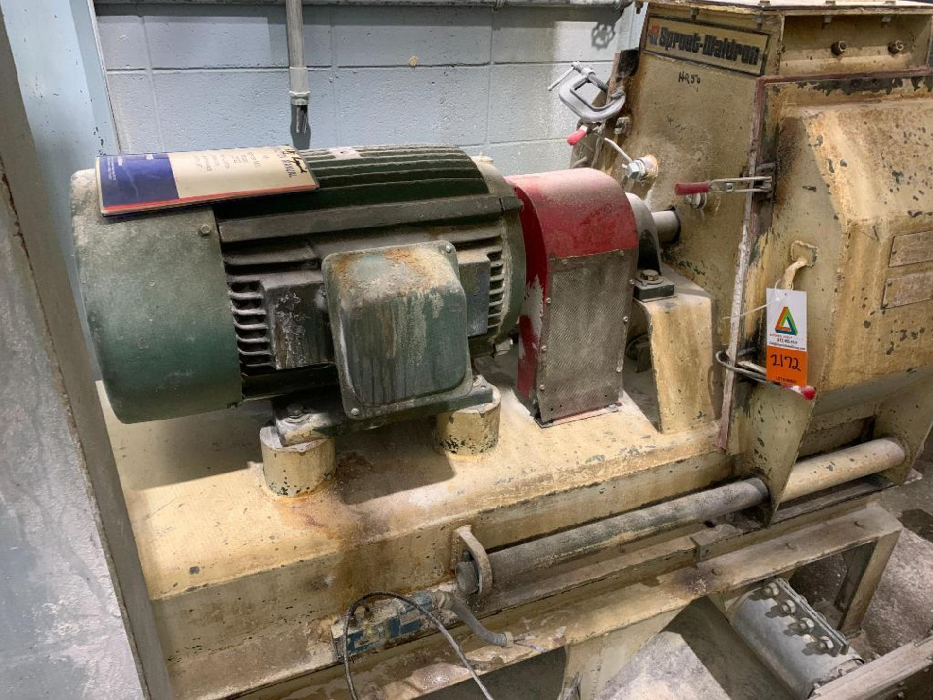 Sprout-Waldron hammermill, 60 hp