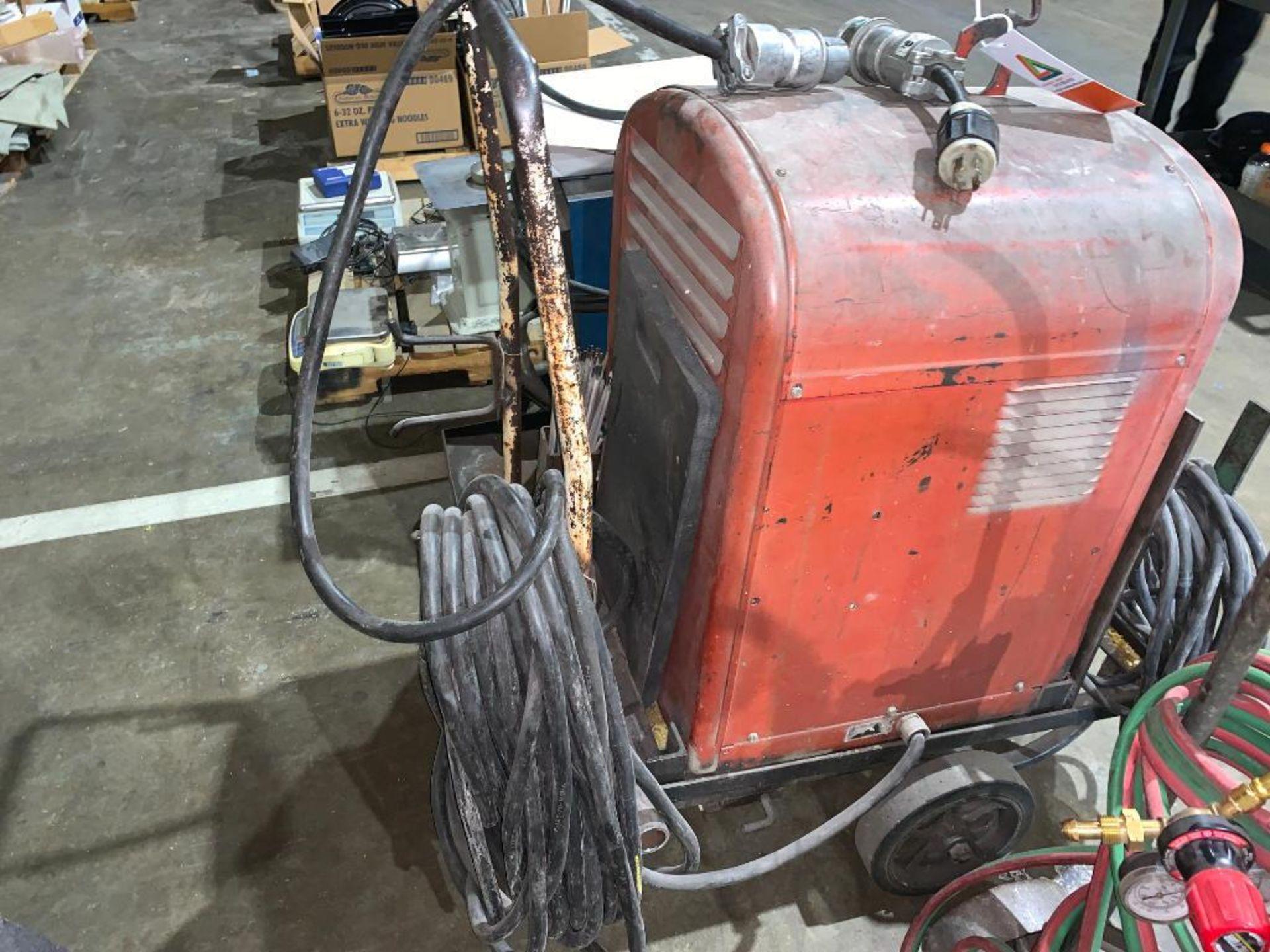 Lincoln Idealarc 250 stick welder - Image 6 of 8