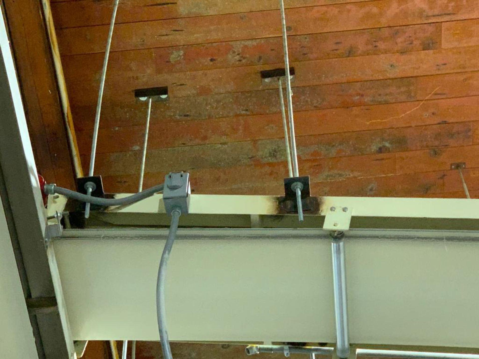 Aseeco mild steel decline conveyor - Image 9 of 12