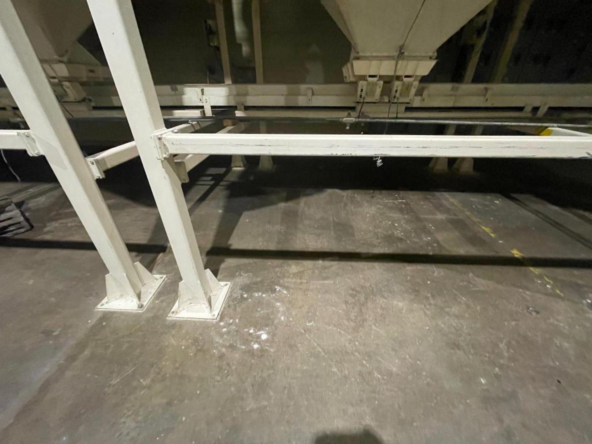 Aseeco mild steel cone bottom bulk storage bin - Image 3 of 28