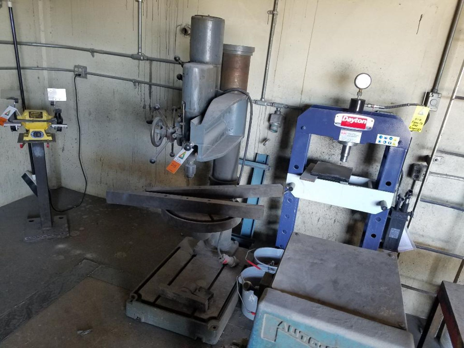 Abarboga Maskiner radial arm drill - Image 5 of 5