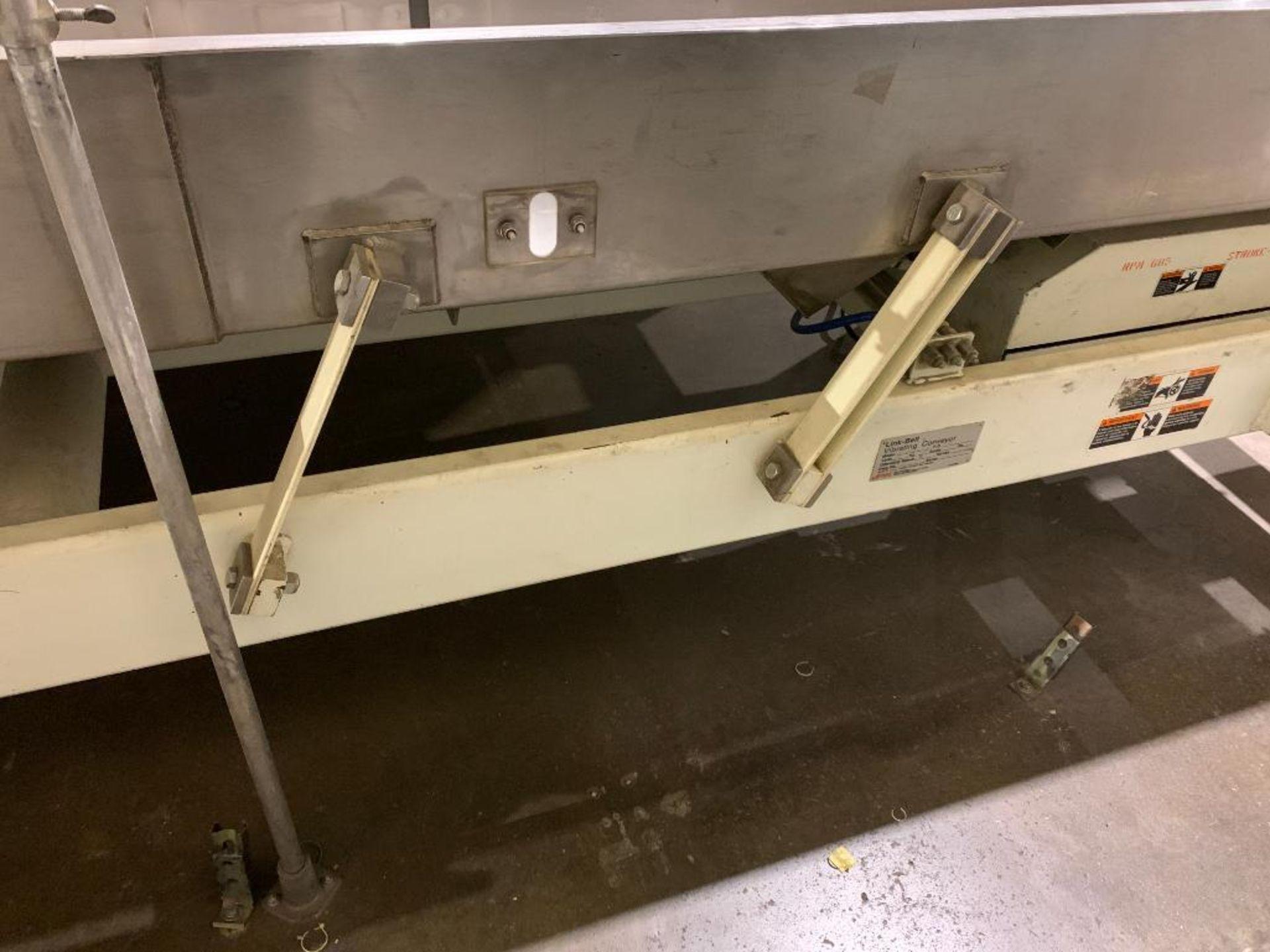 1992 Link-Belt vibratory conveyor, model LBL2405-10X12-10 - Image 7 of 34