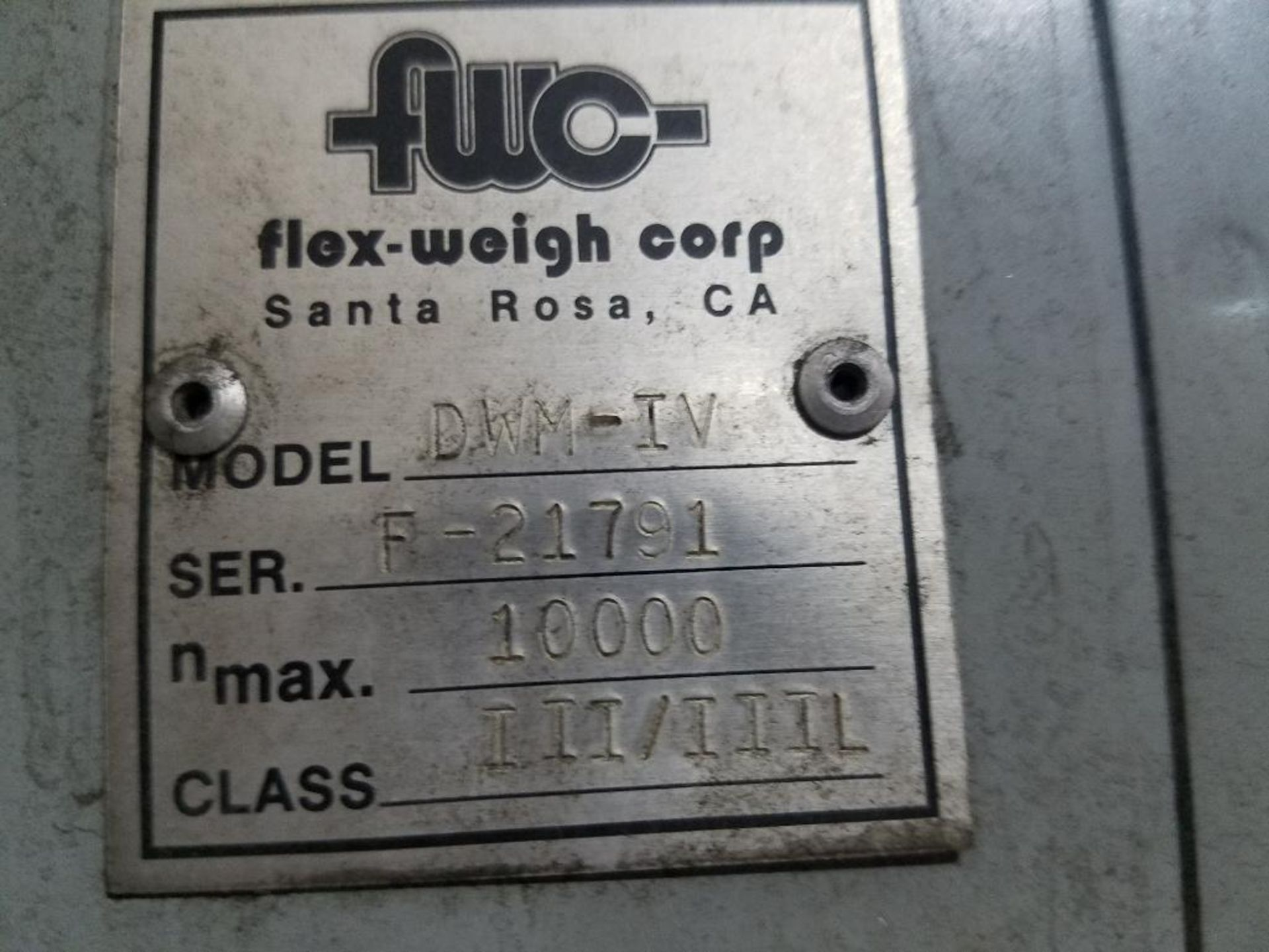 Flex-Weigh 4 ft. x 5 ft. platform scale - Image 4 of 4