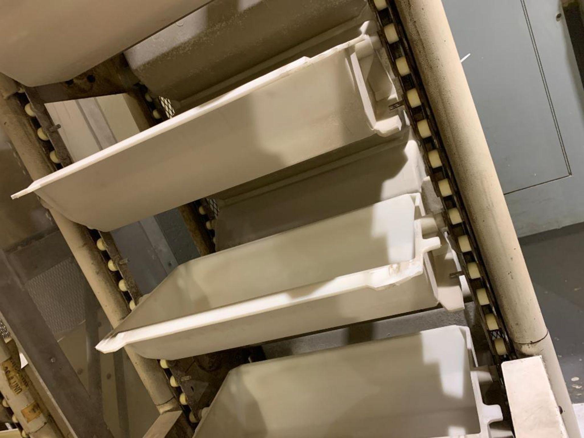 1992 Aseeco horizontal bucket elevator, model ALH-0-24-CP - Image 10 of 18