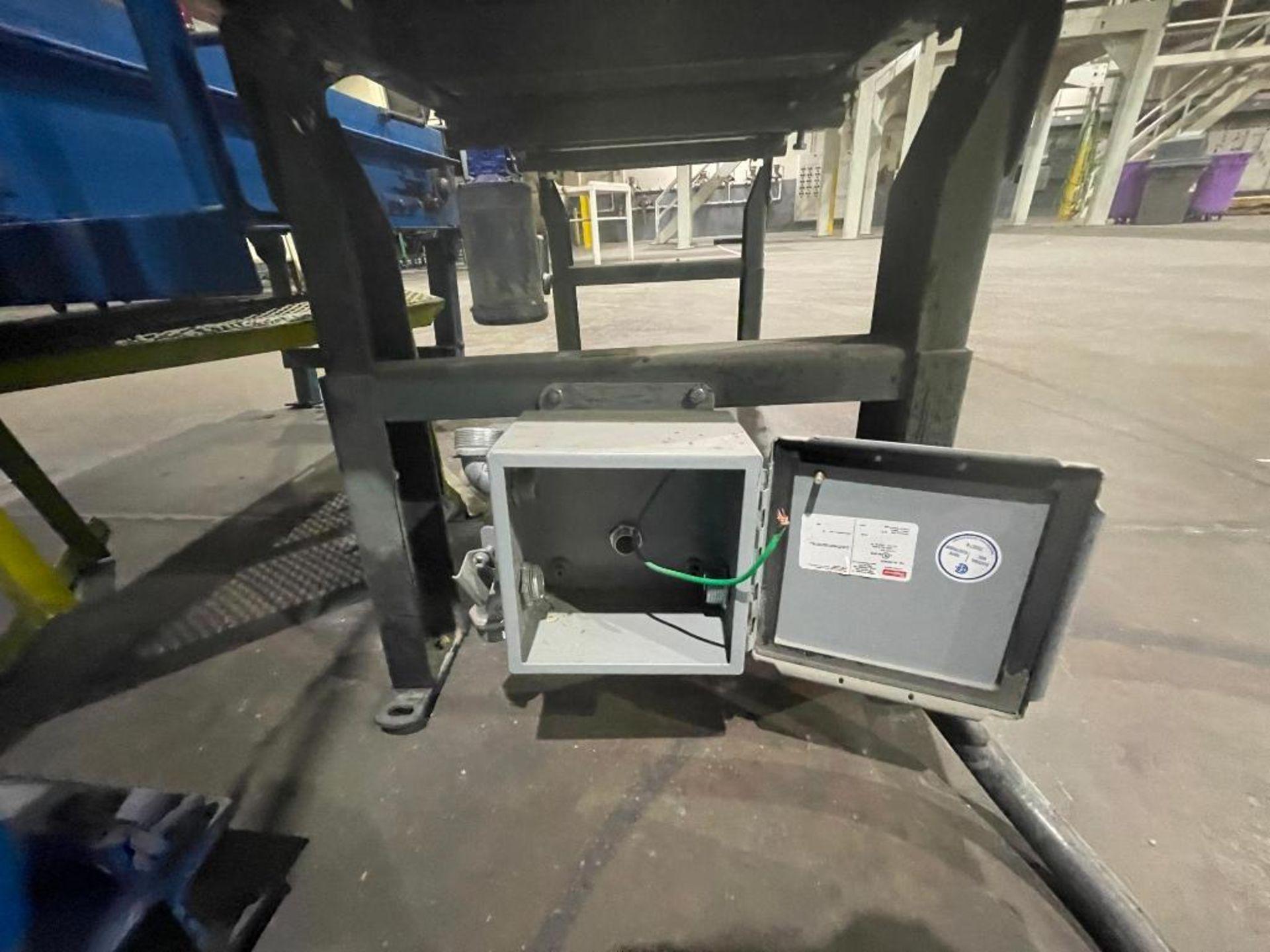 Hytrol mild steel conveyor - Image 9 of 10