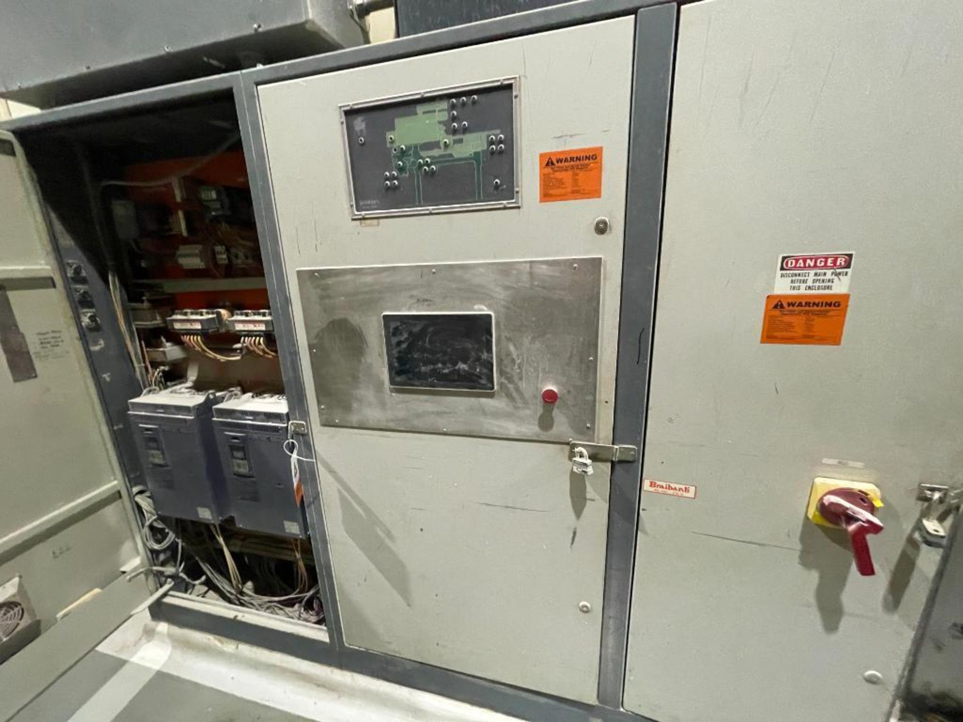 3-door cabinet with PLC and VFD's - Image 16 of 20