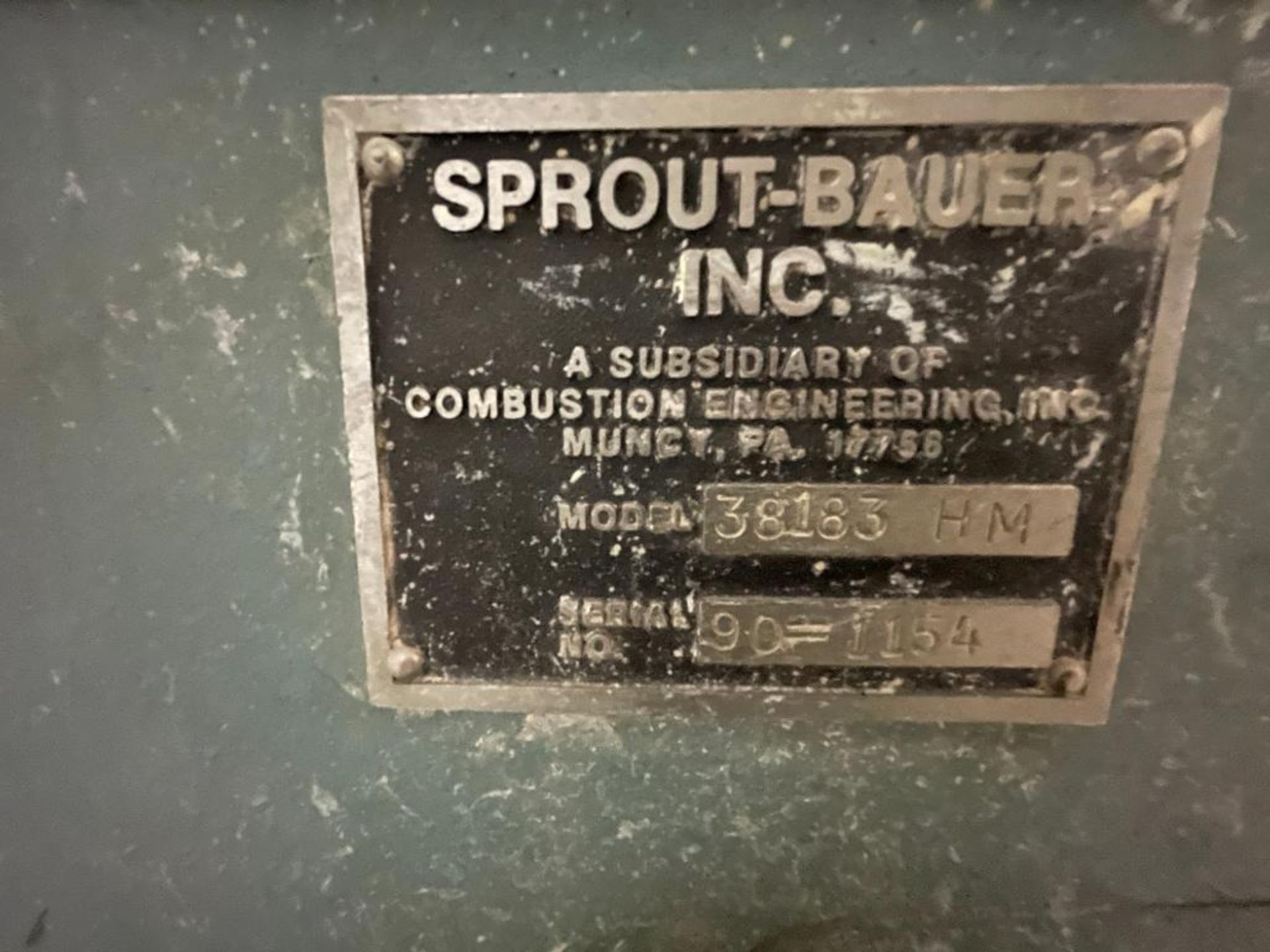 Sprout-Bauer hammermill, 100 hp - Image 16 of 25