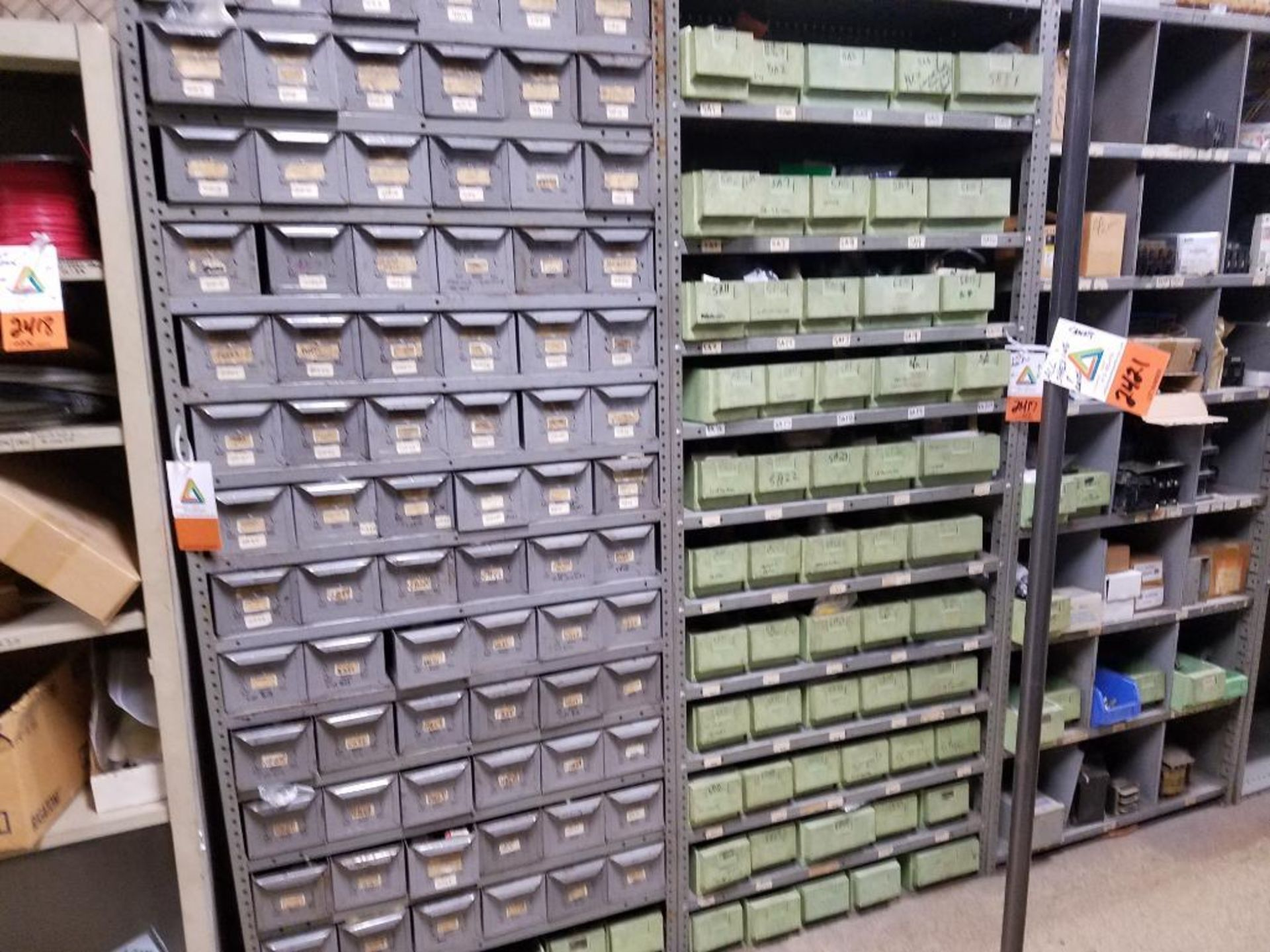 all shelving and storage units located in MRO room - Image 10 of 11