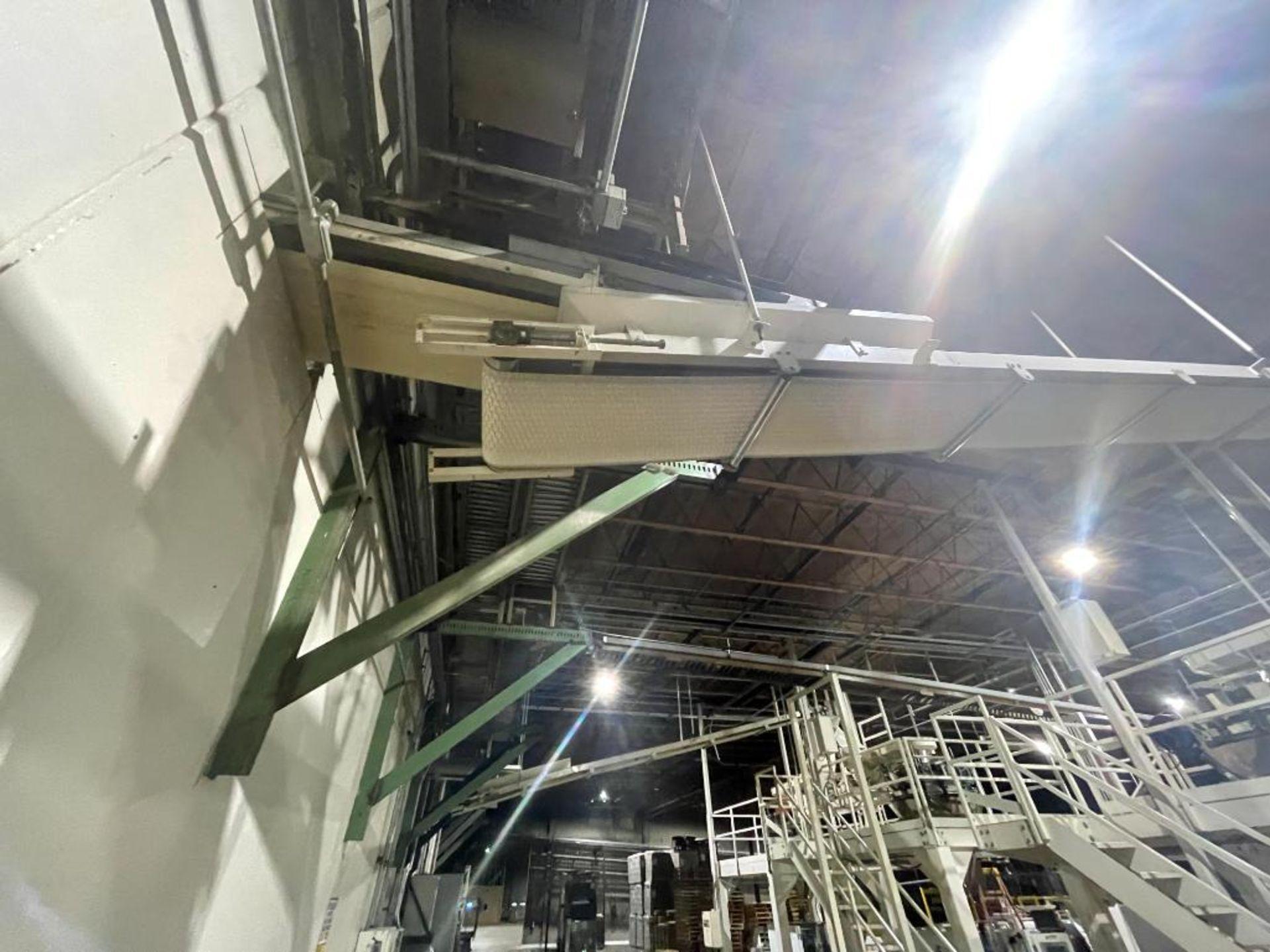 mild steel overhead belt conveyor - Image 2 of 12