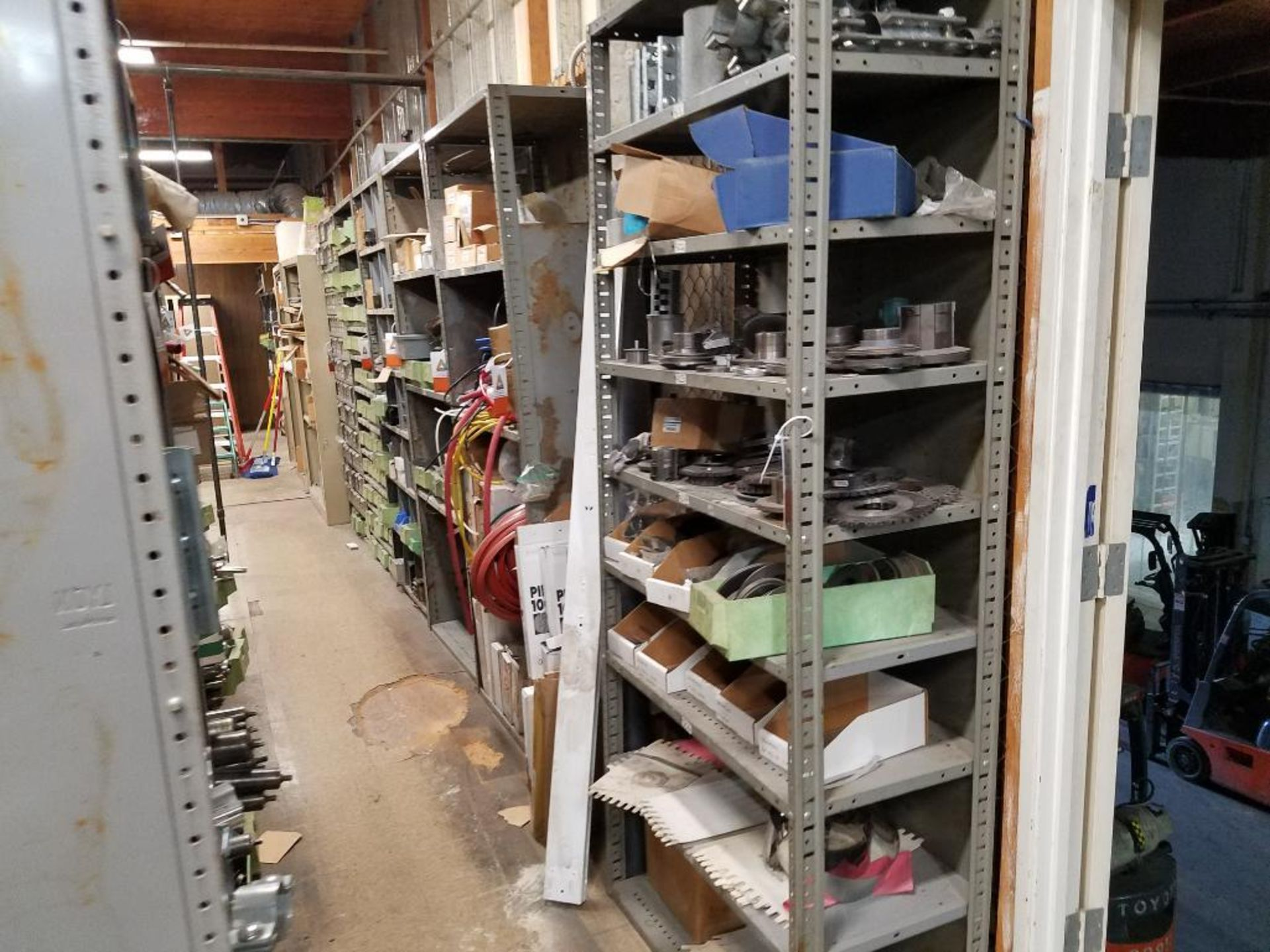 all shelving and storage units located in MRO room - Image 9 of 11