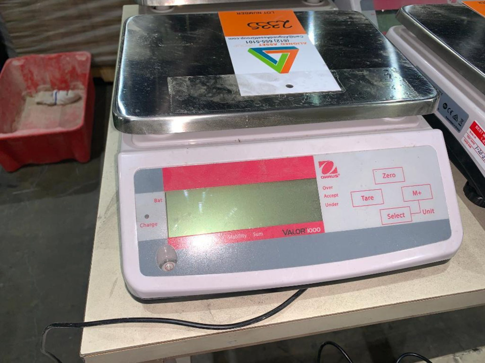 OHaus digital scale - Image 2 of 3