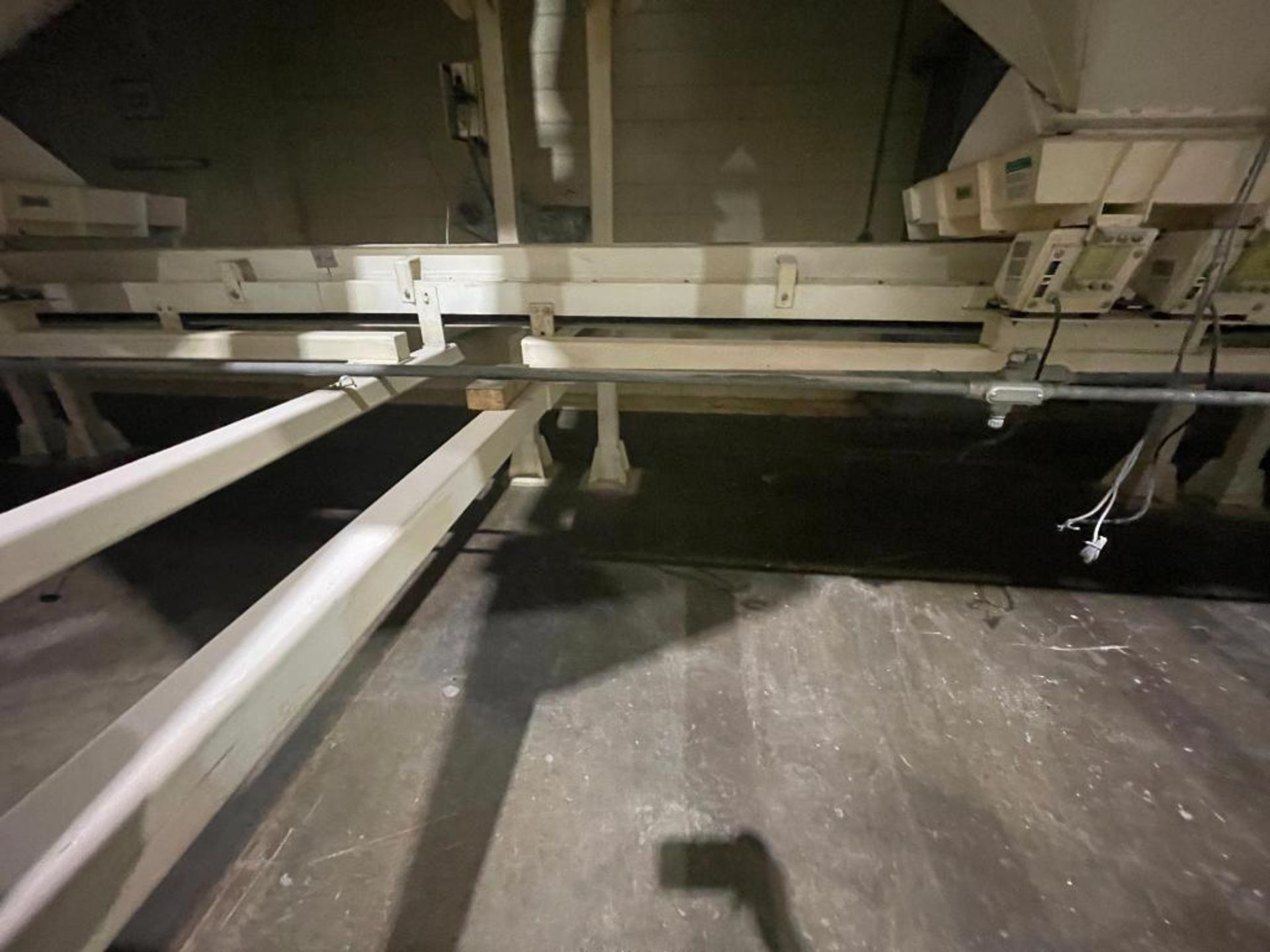 Aseeco mild steel cone bottom bulk storage bin - Image 4 of 28