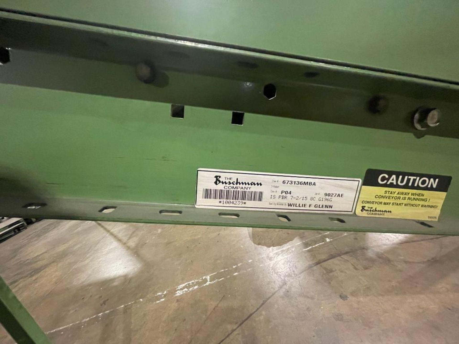 Buschman mild steel incline conveyor - Image 15 of 17