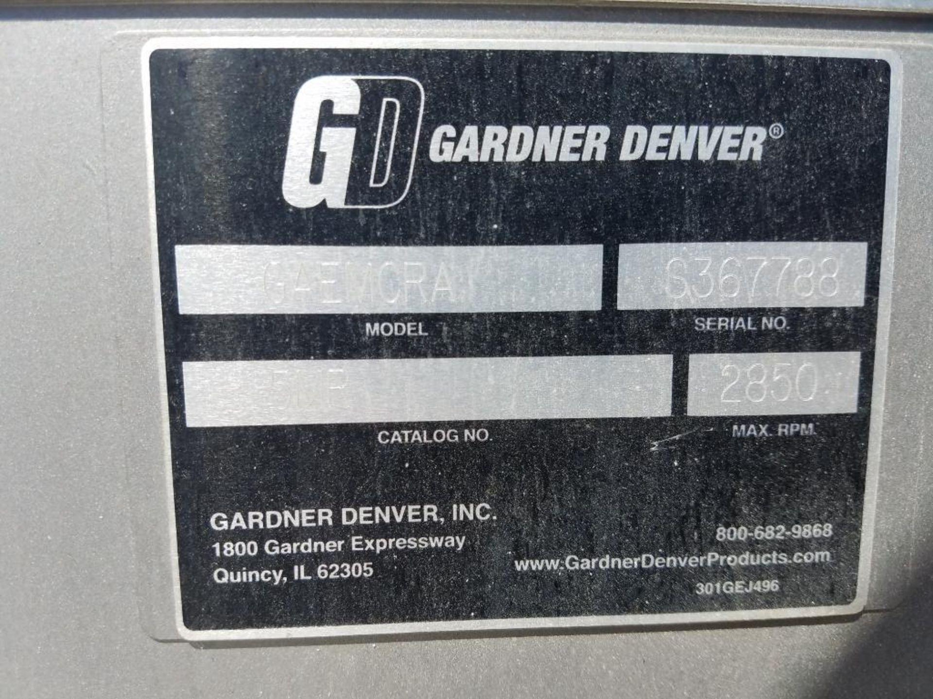 Gardner Denver Sutorbilt rotary positive blower - Image 6 of 7