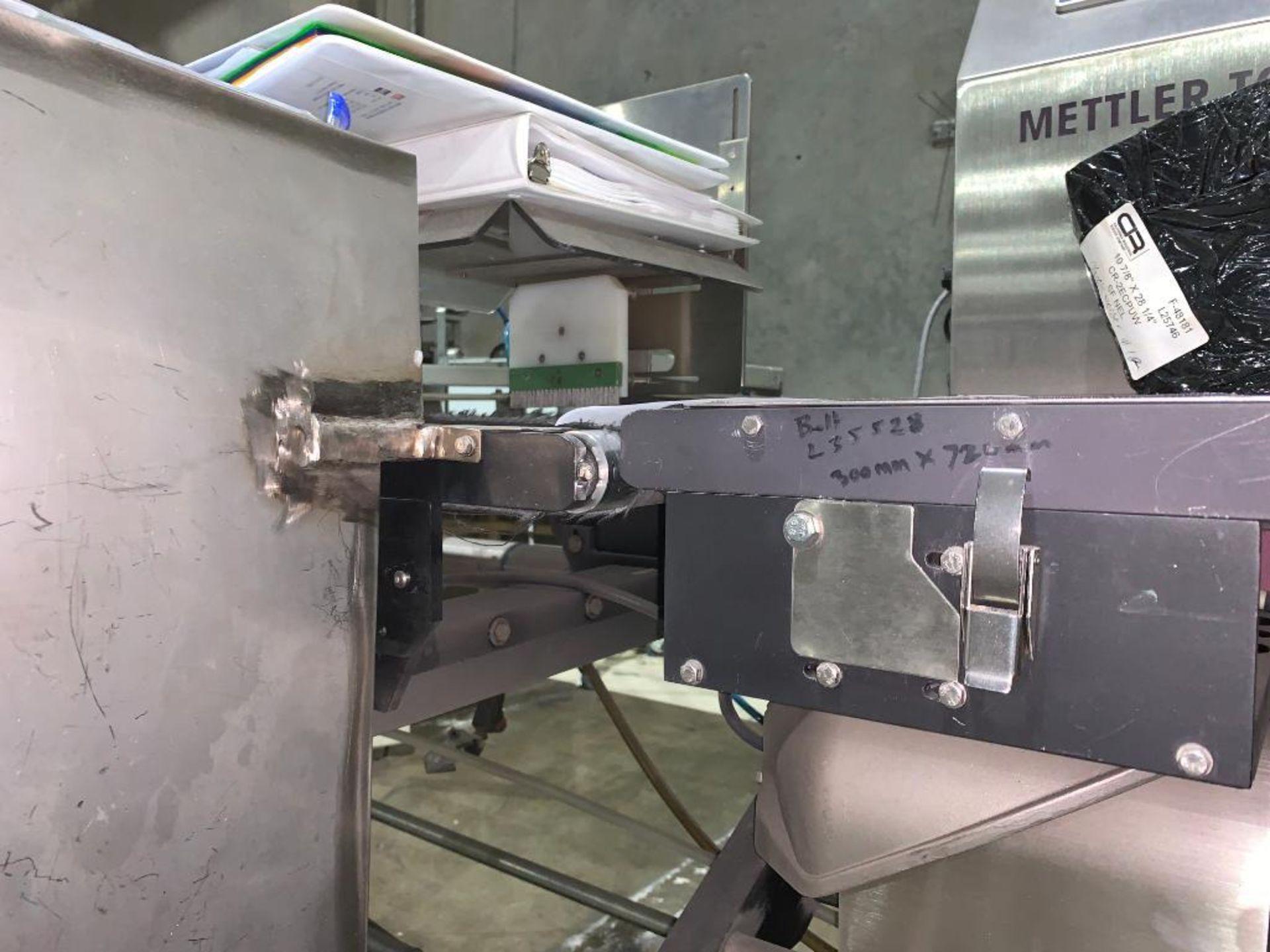 Mettler Toledo CombiChecker combination metal detector and checkweigher, model XE3 - Image 14 of 25