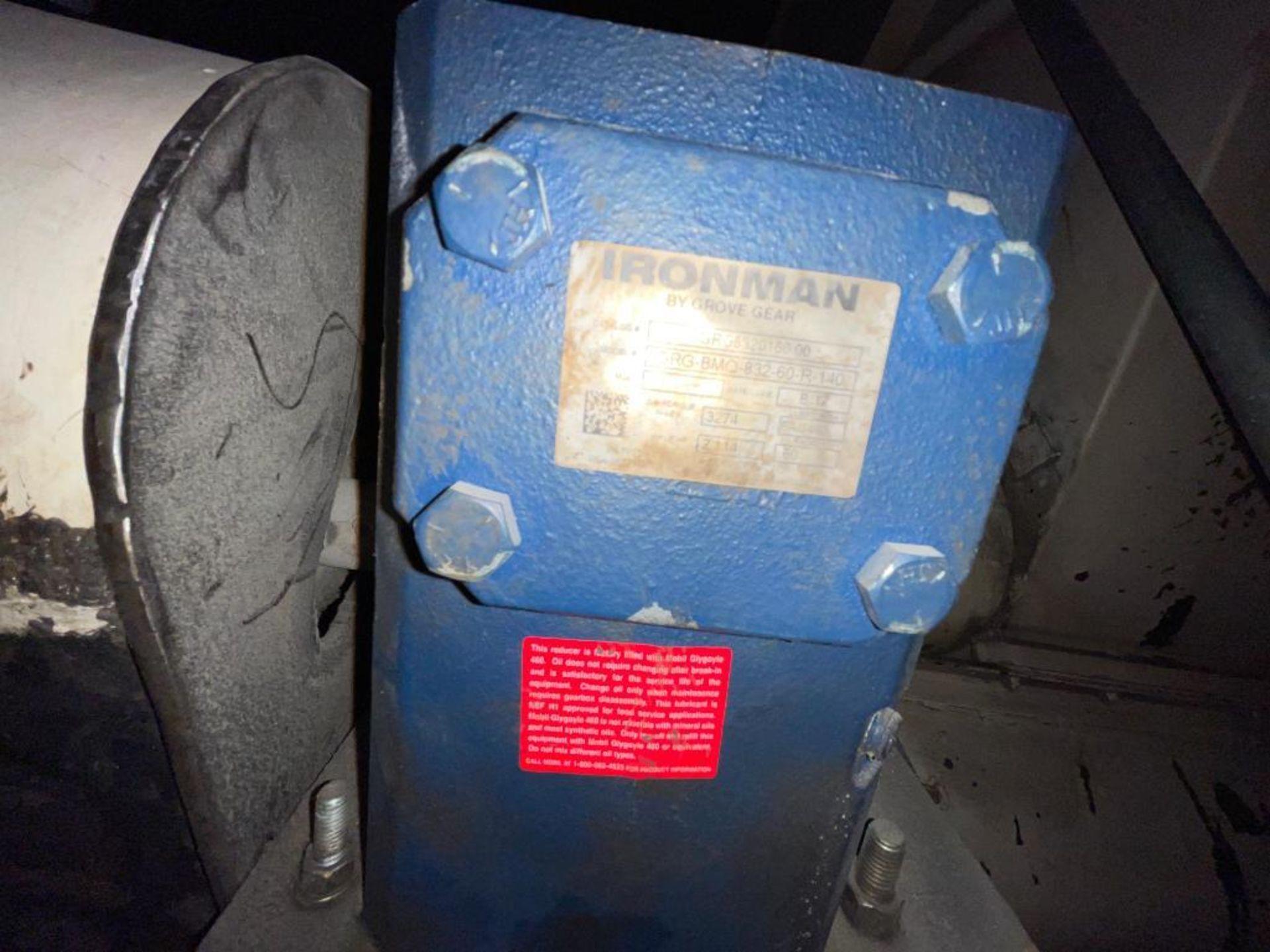 mild steel hopper, chisel bottom, screw auger - Image 12 of 12