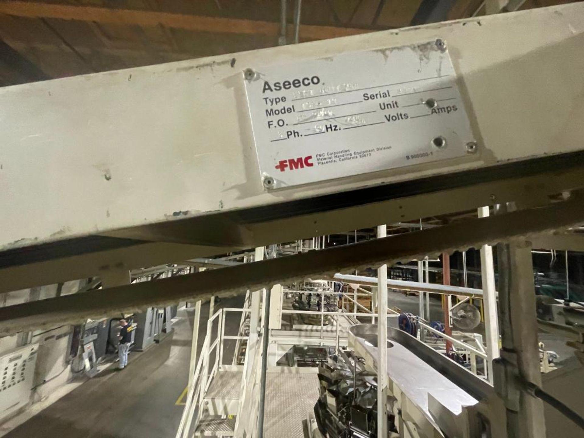 mild steel overhead belt conveyor - Image 8 of 12