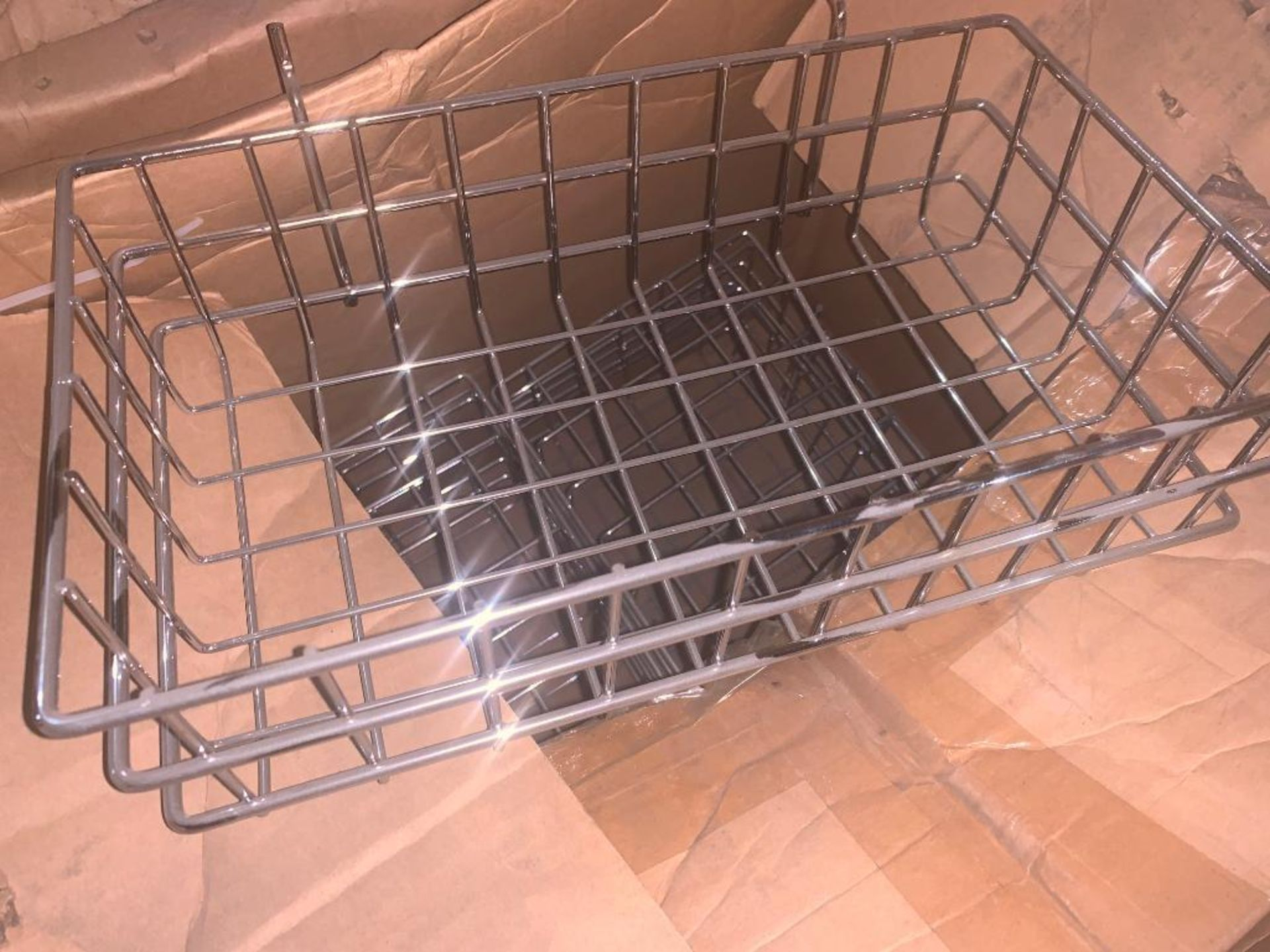 pallet of wire baskets and wire parts - Image 6 of 7