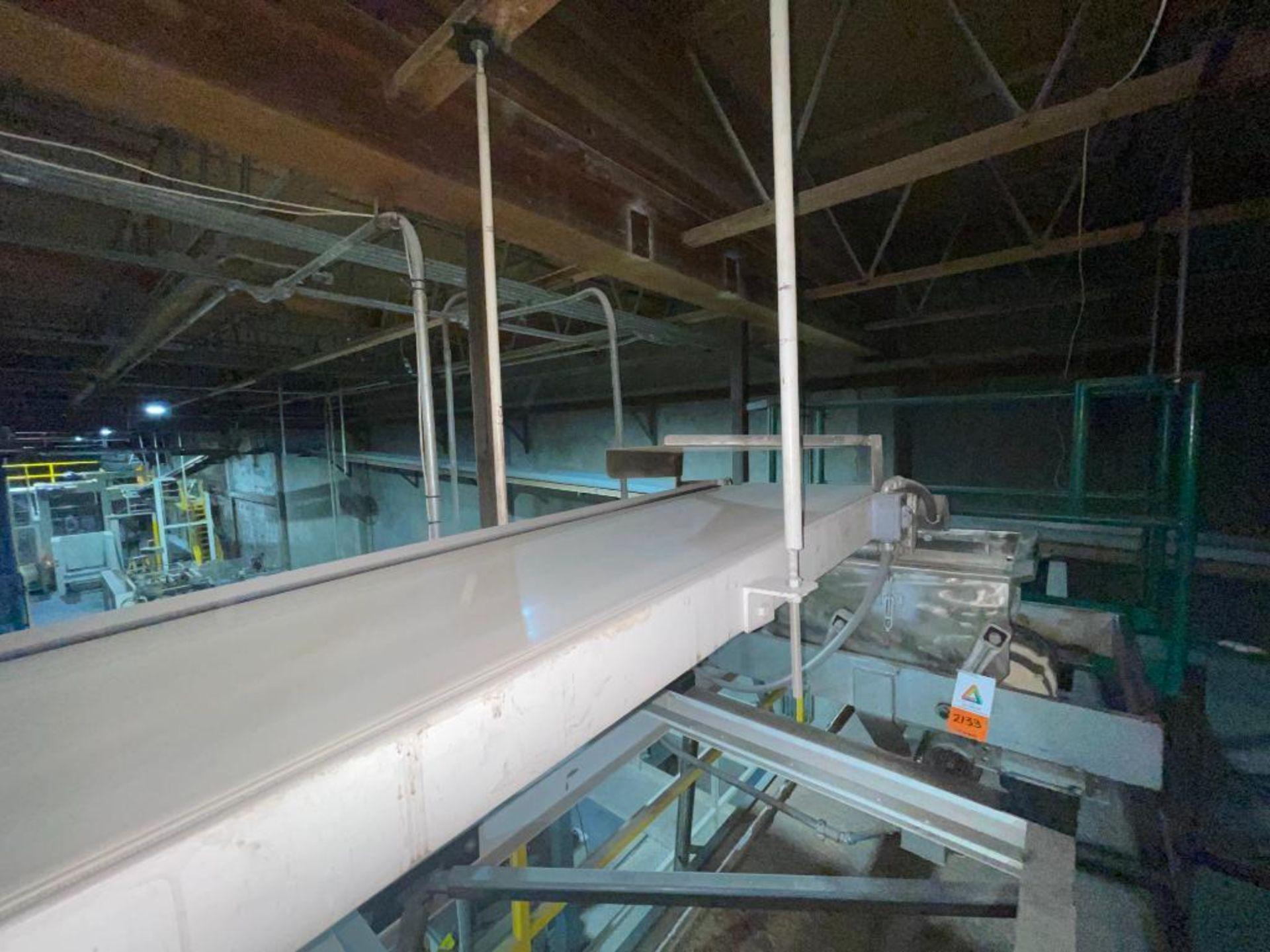 mild steel overhead belt conveyor - Image 9 of 10