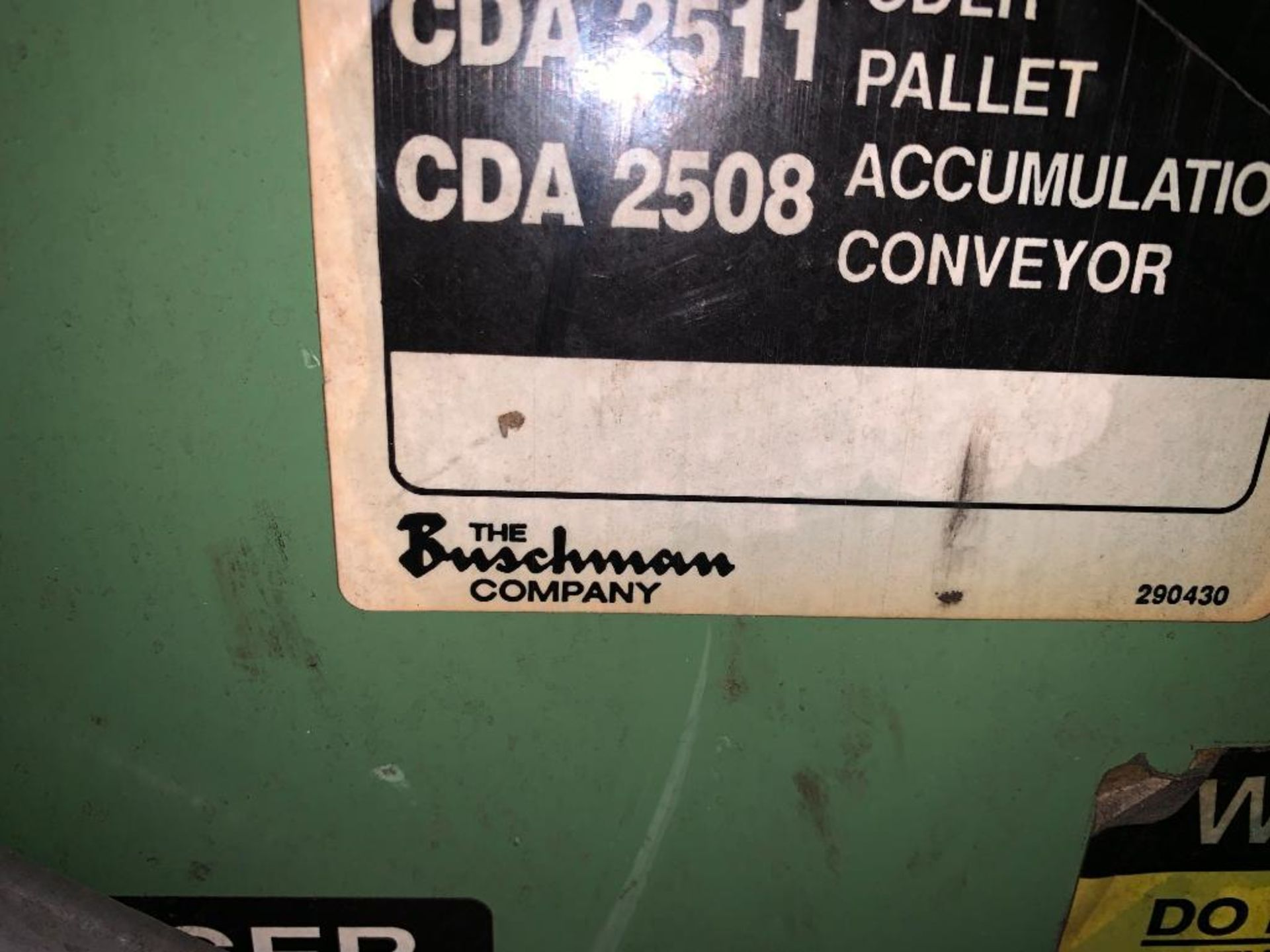 1992 Currie top to bottom palletizer, machine number LSP-5-1175 - Image 30 of 54