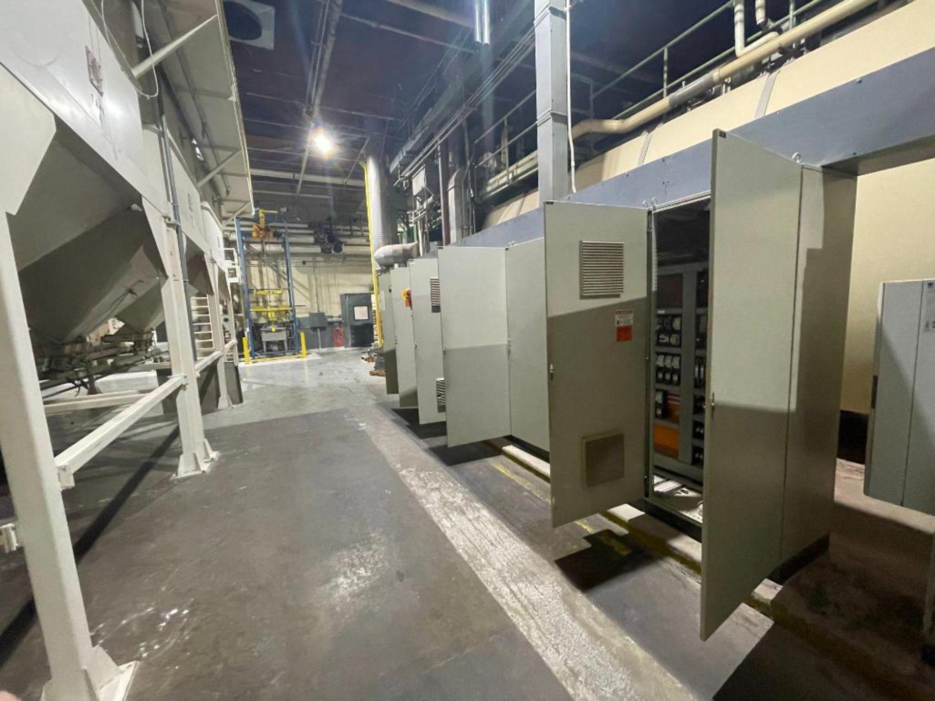 7-door mild steel air conditioned control cabinet, 5-VFD's - Image 43 of 43